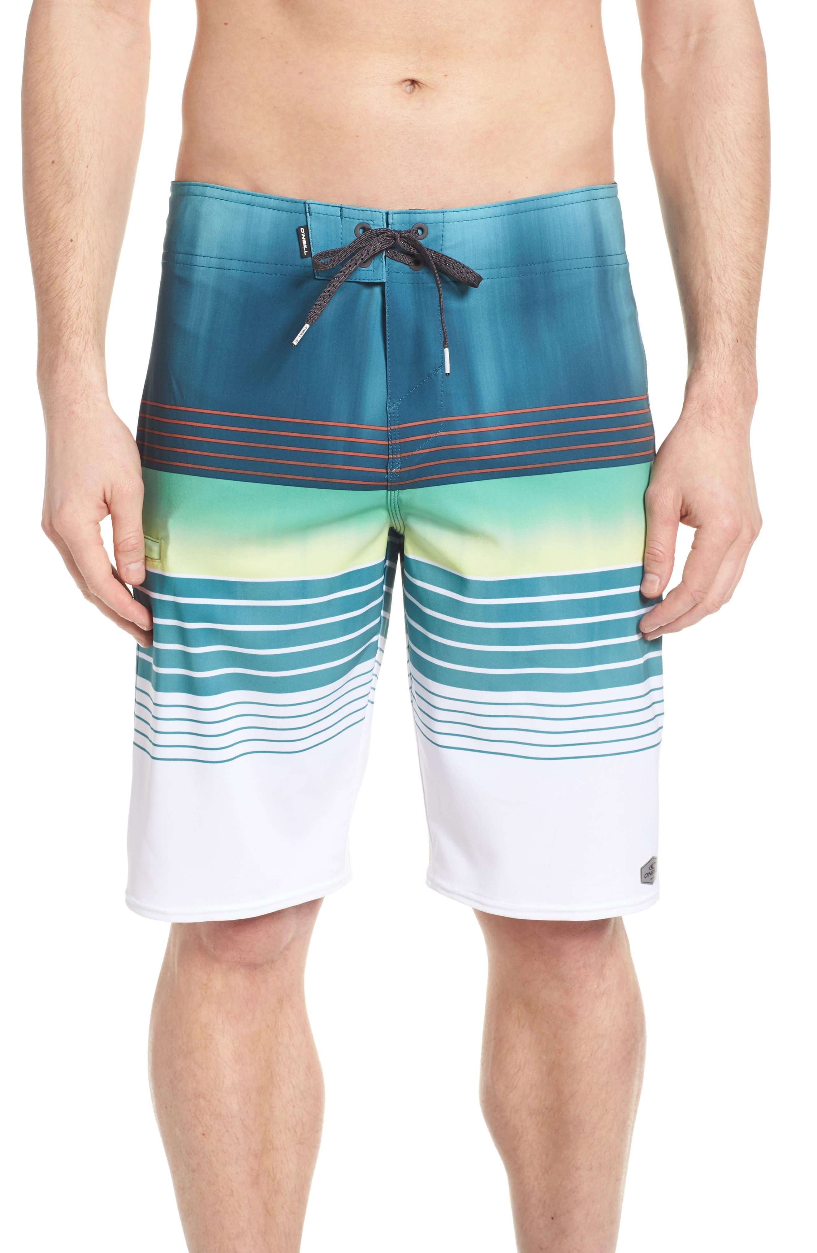 Hyperfreak Heist Board Shorts,                         Main,                         color, DARK BLUE