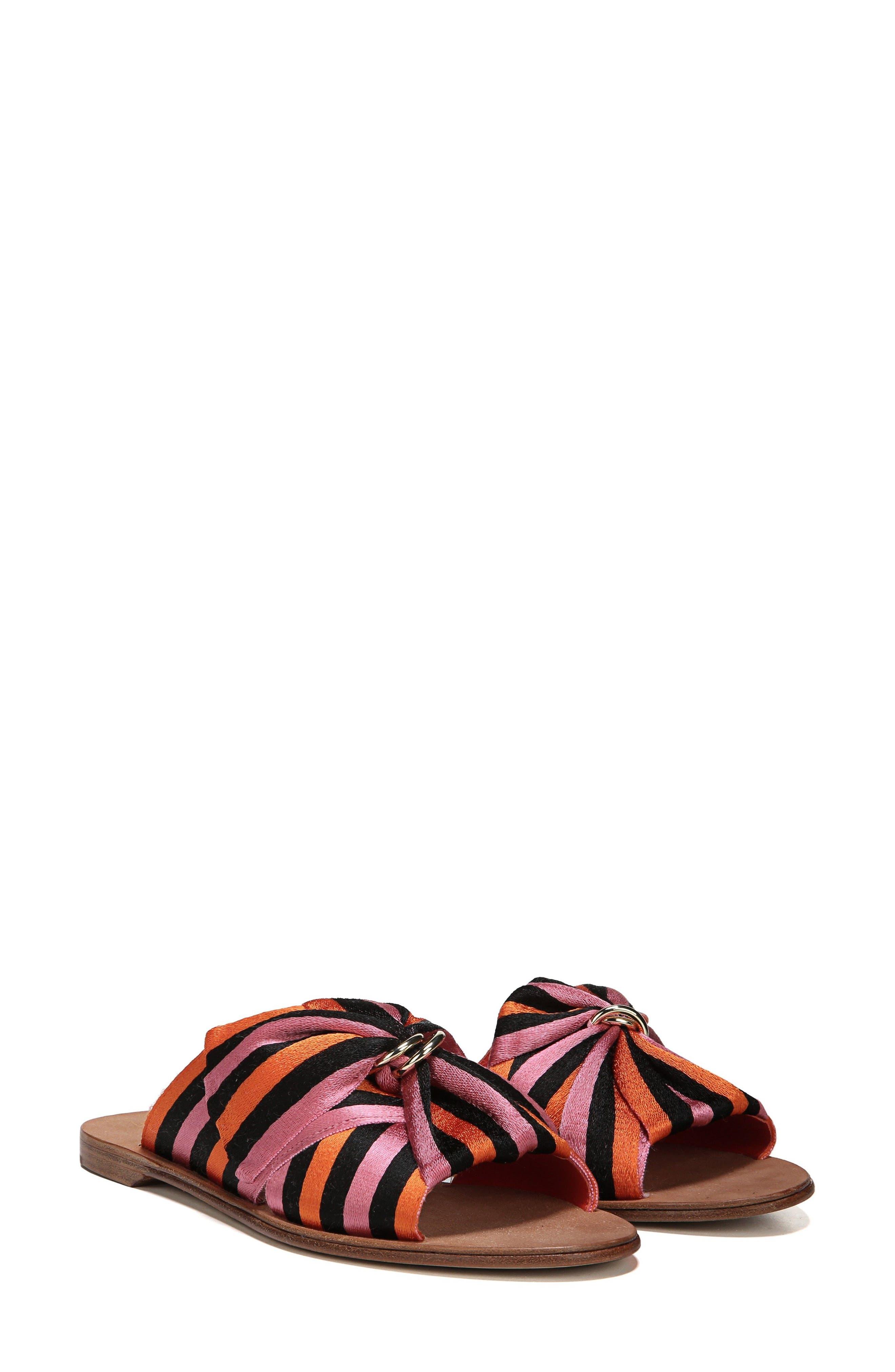 Bella Asymmetrical Slide Sandal,                             Main thumbnail 2, color,