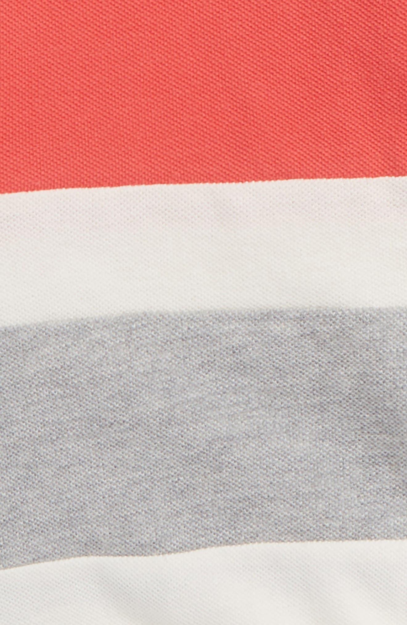 Colorblock Piqué Polo,                             Alternate thumbnail 2, color,                             614