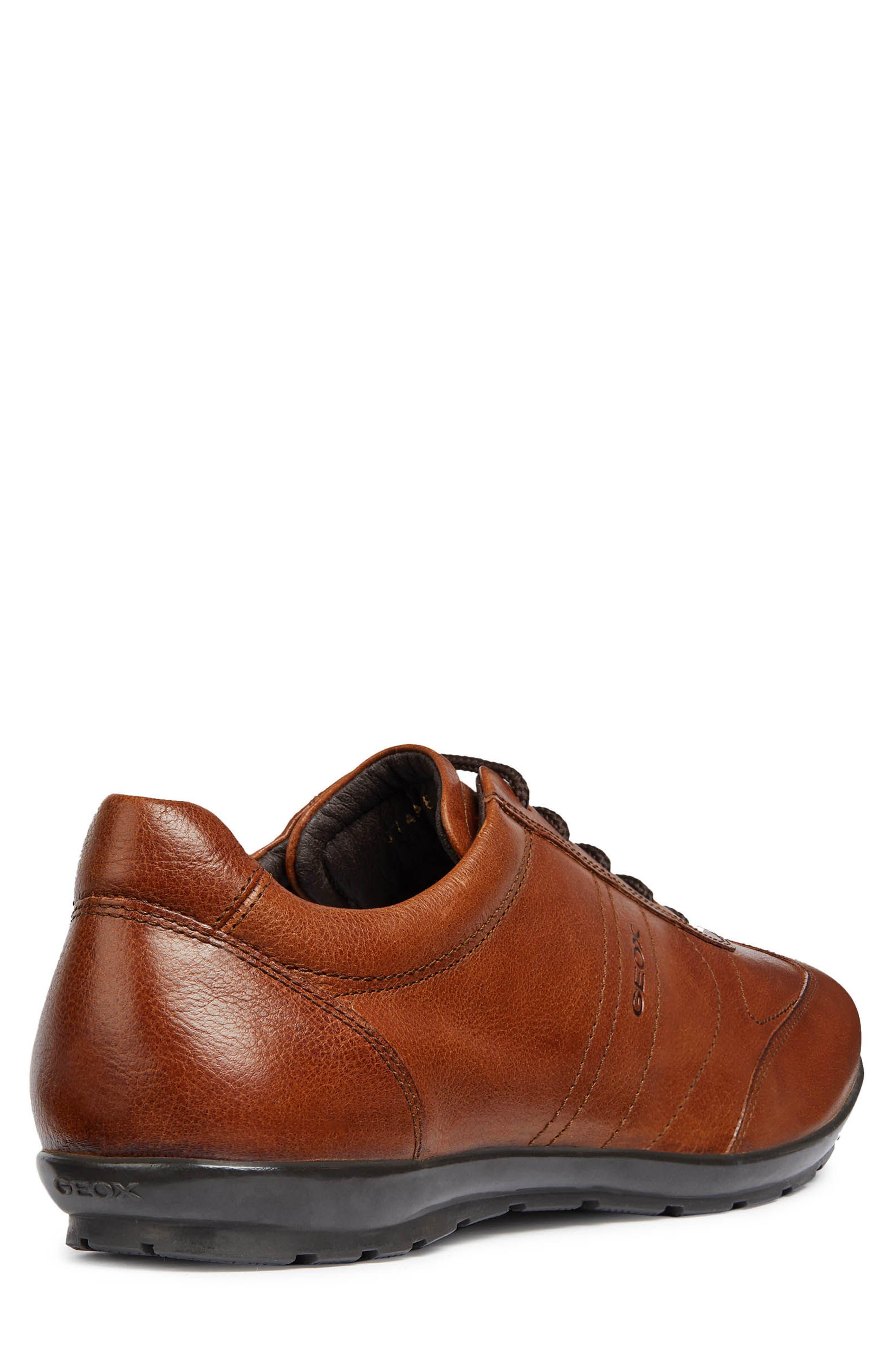 Symbol 25 Euro Sneaker,                             Alternate thumbnail 2, color,                             BROWN LEATHER
