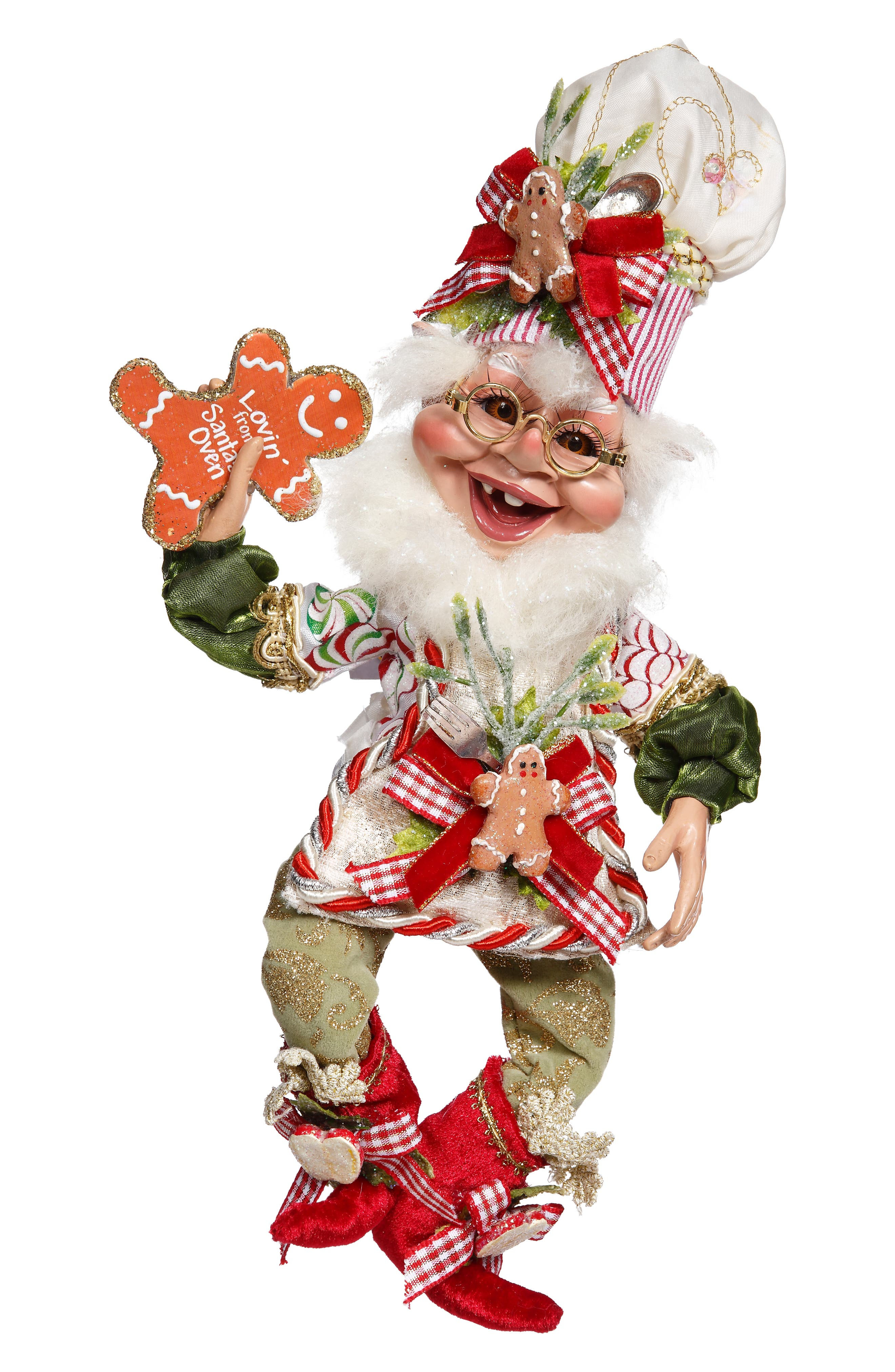 Christmas Kitchen Elf,                             Main thumbnail 1, color,                             GREEN MULTI