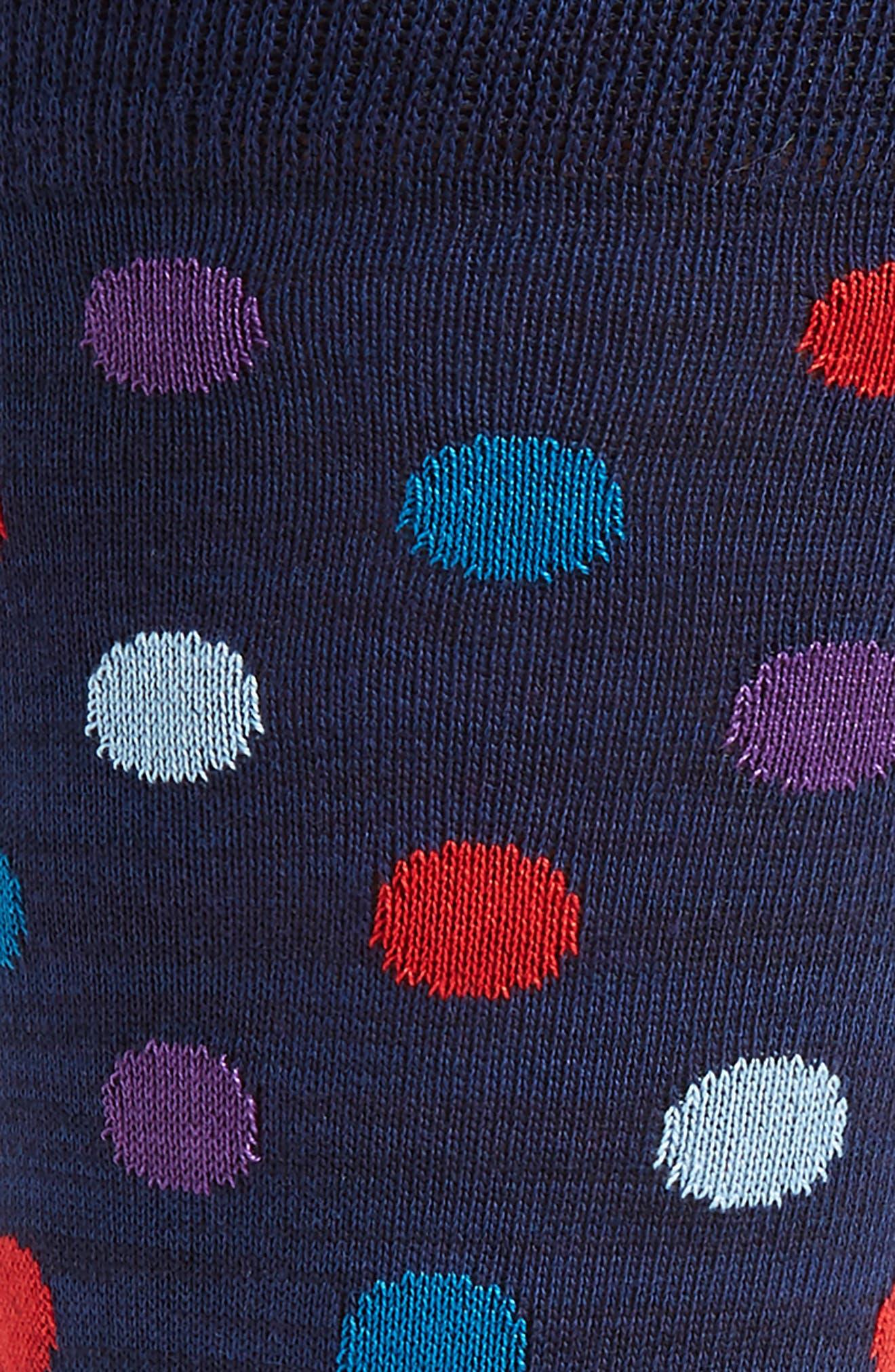 Dot & Stripe Socks,                             Alternate thumbnail 6, color,