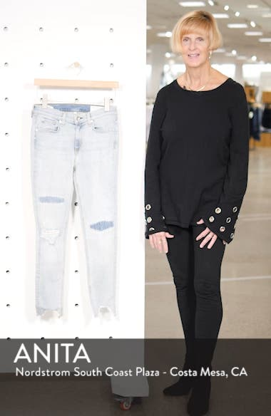 JEAN Ripped Ankle Skinny Jeans, sales video thumbnail