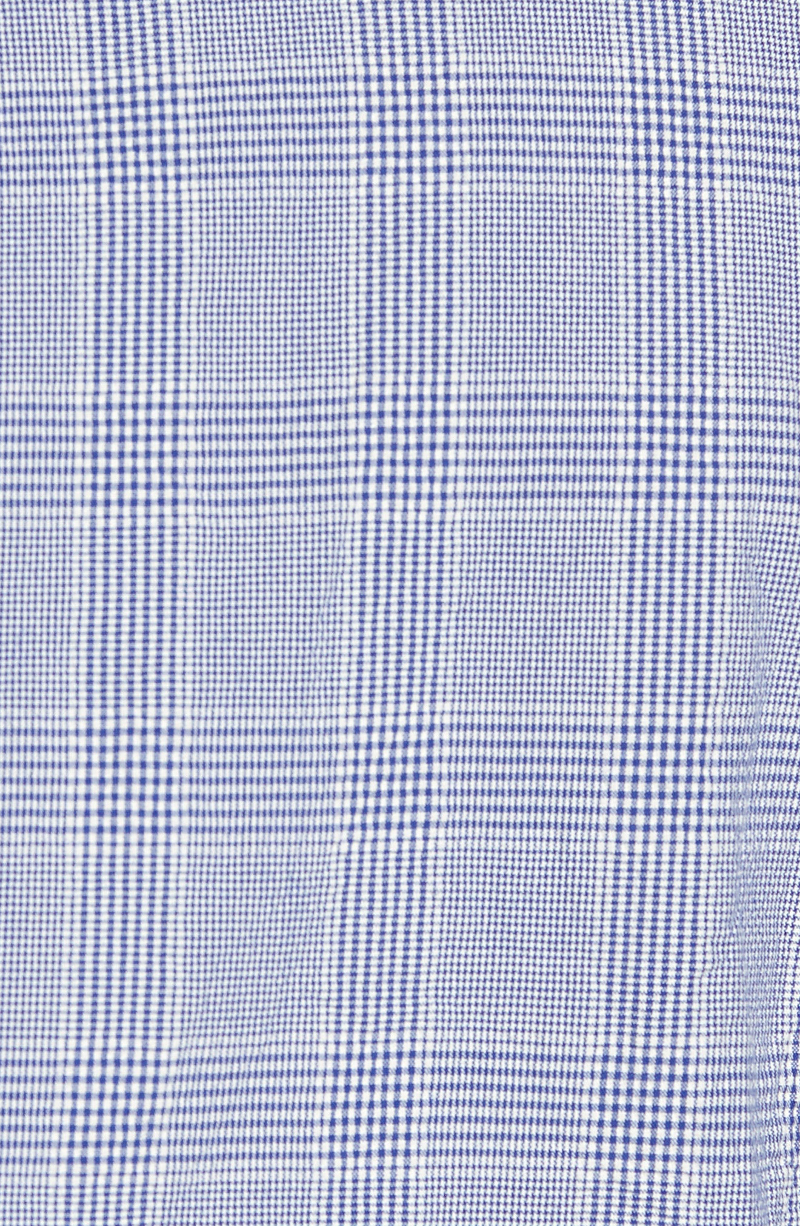 Classic Fit Glen Plaid Seersucker Sport Coat,                             Alternate thumbnail 6, color,                             400