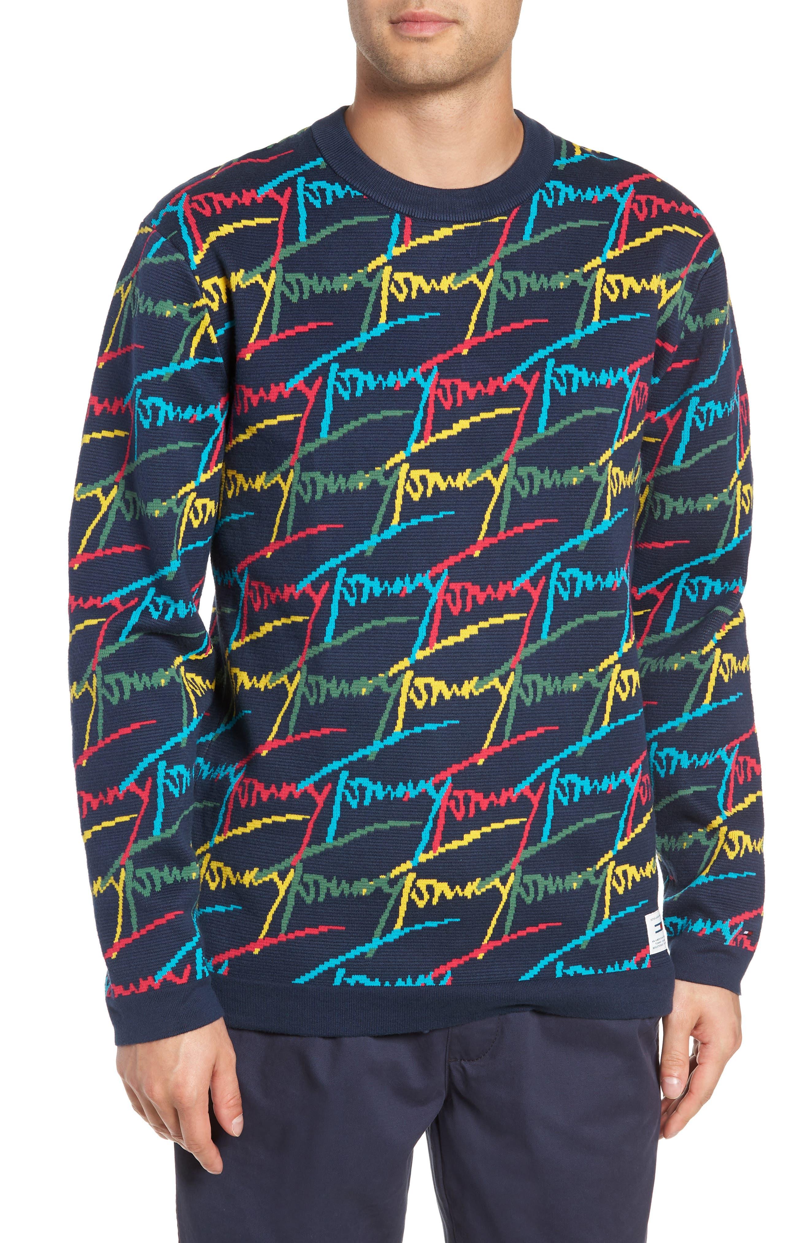 Tommy Jeans Tjm Signature Sweater, Blue
