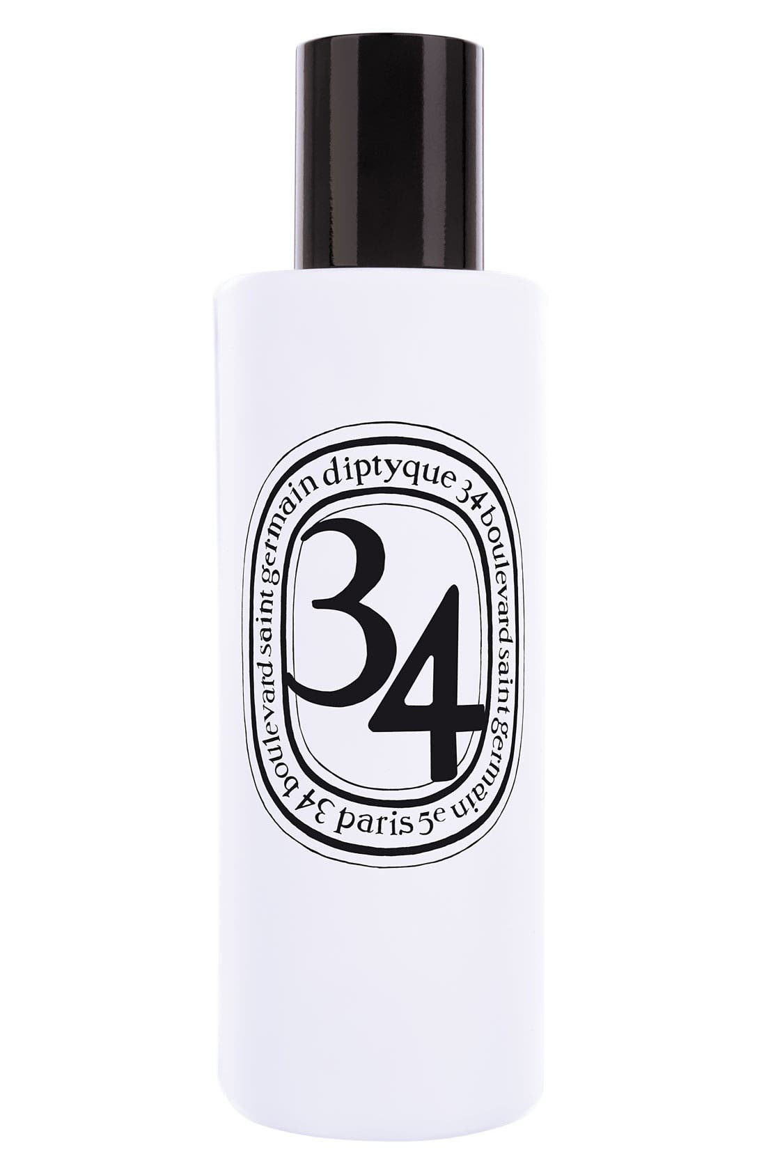 DIPTYQUE '34' Room Spray, Main, color, 000