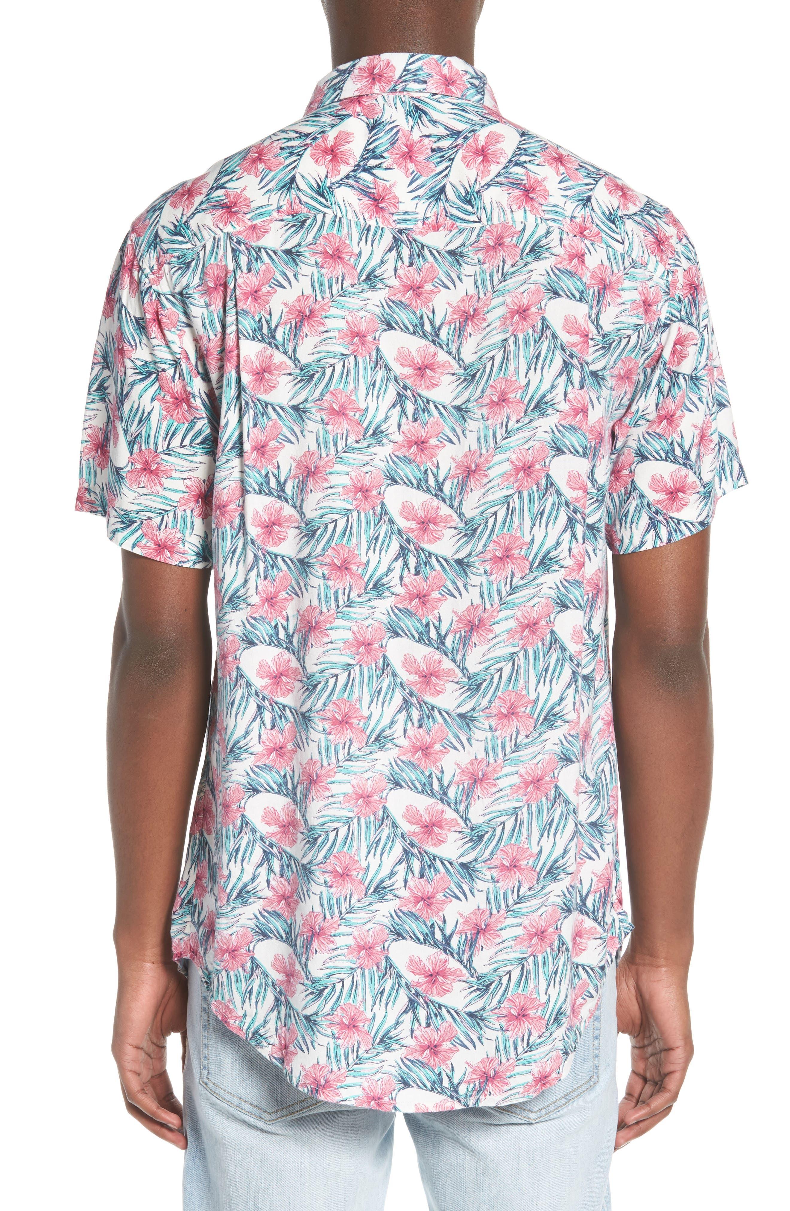 Carolina Woven Shirt,                             Alternate thumbnail 2, color,                             100