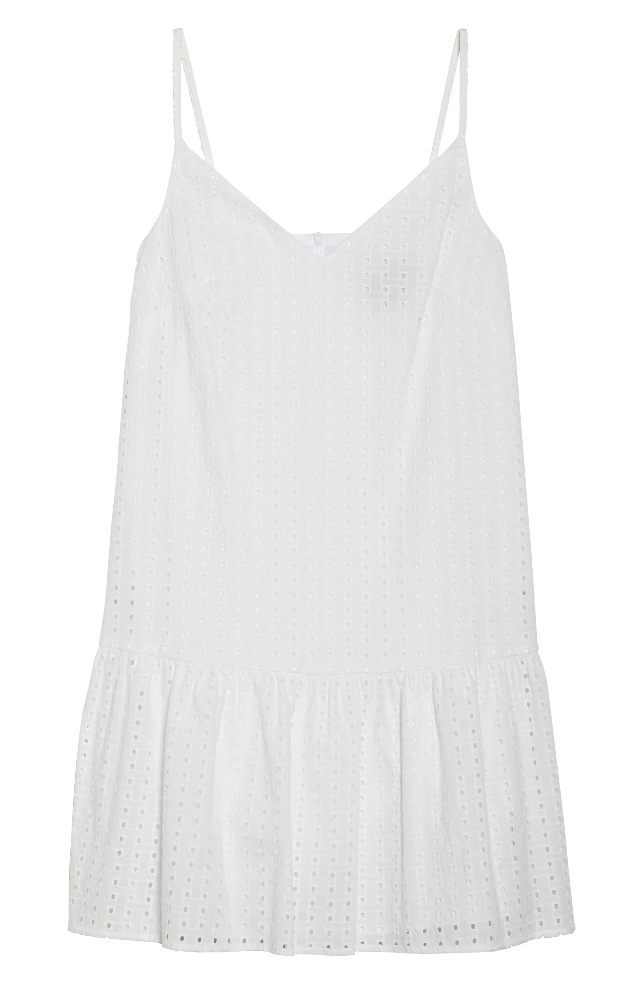 Eyelet Sundress,                             Alternate thumbnail 7, color,                             101