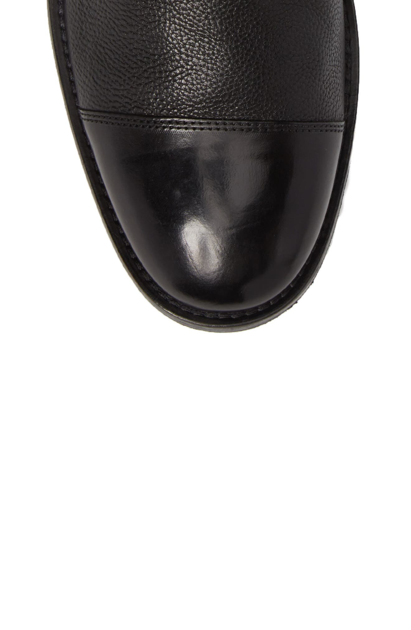 Flyboy Cap Toe Boot,                             Alternate thumbnail 5, color,                             001