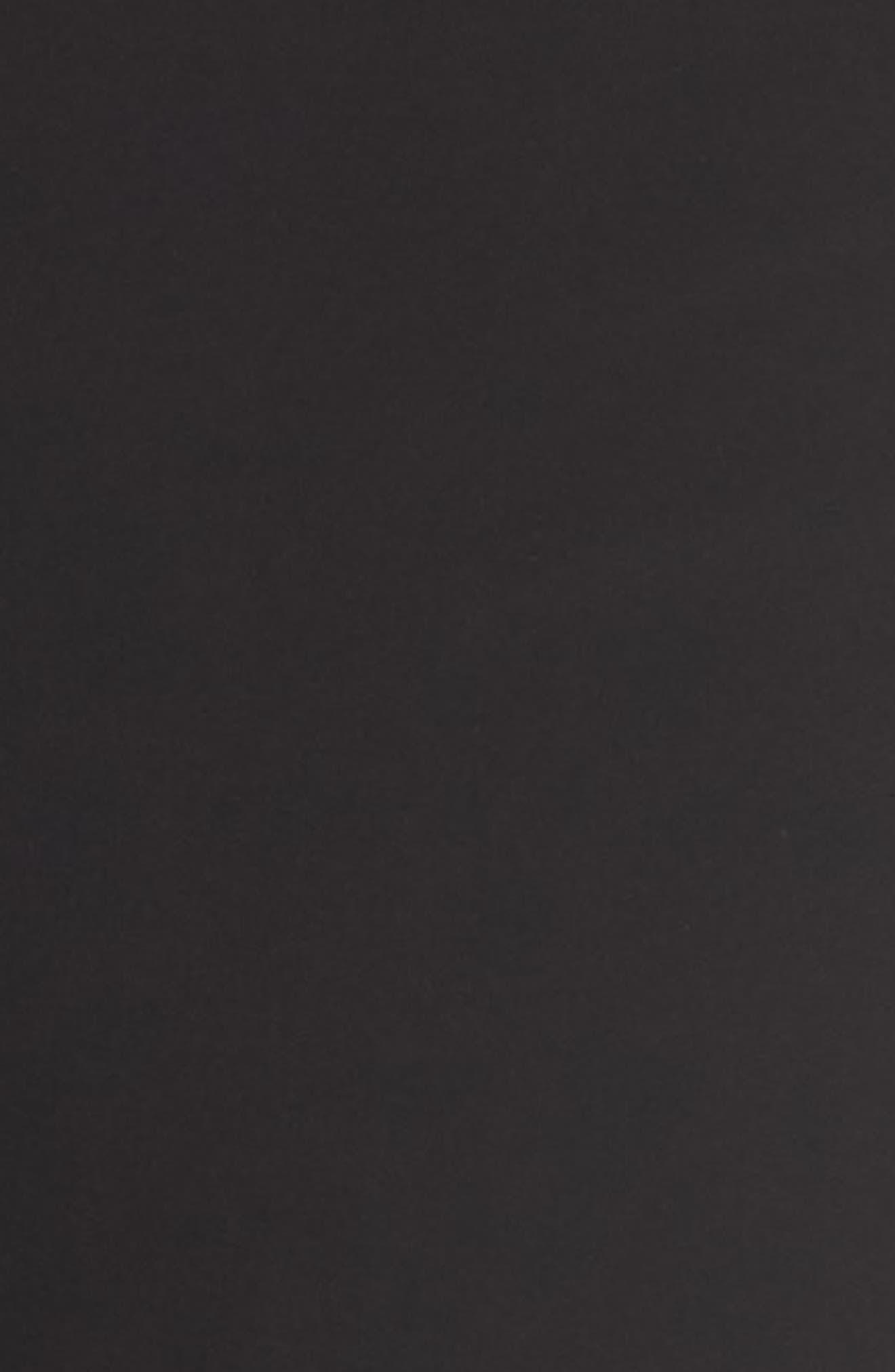 Side Seam Track Pants,                             Alternate thumbnail 5, color,                             BLACK