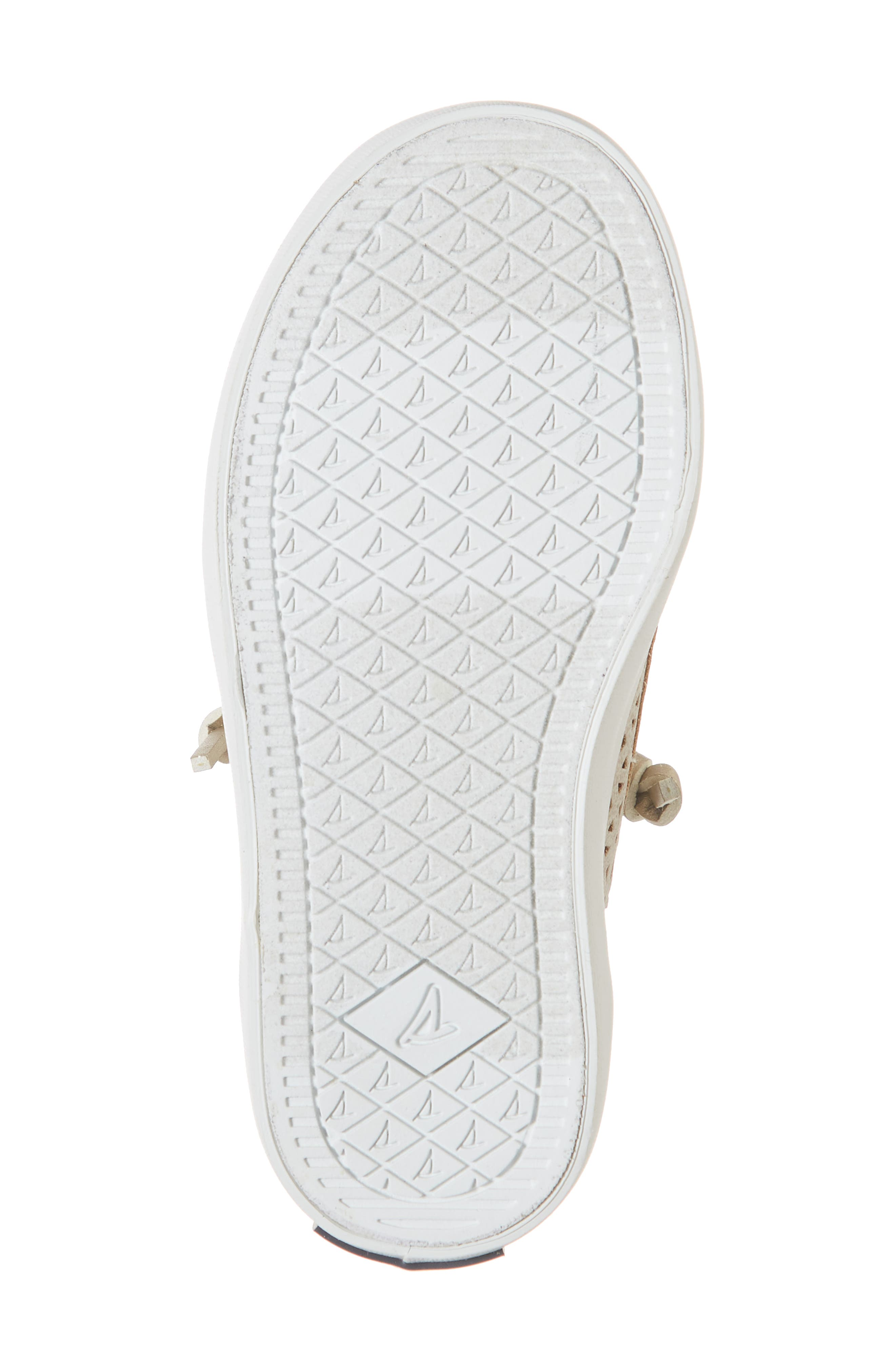 Sperry Crest Vibe Sneaker,                             Alternate thumbnail 6, color,                             CHAMPAGNE SYNTHETIC