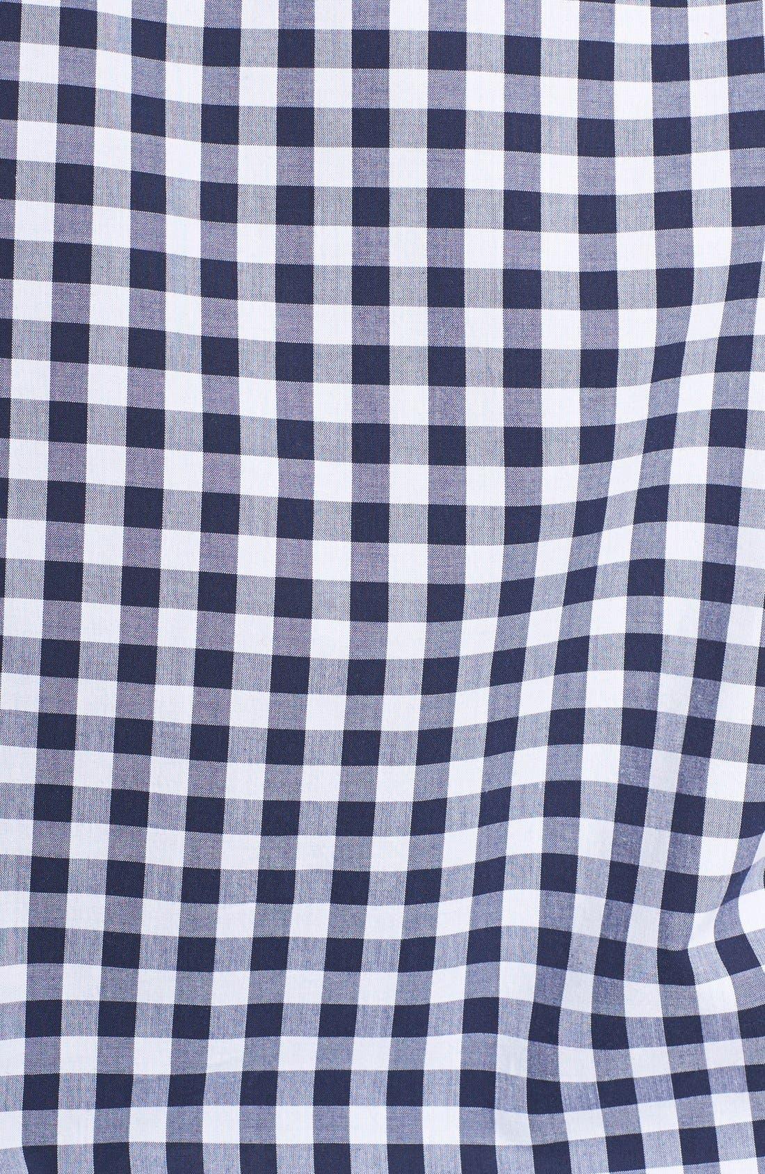 'Perfect' Gingham Shirt,                             Alternate thumbnail 3, color,                             480