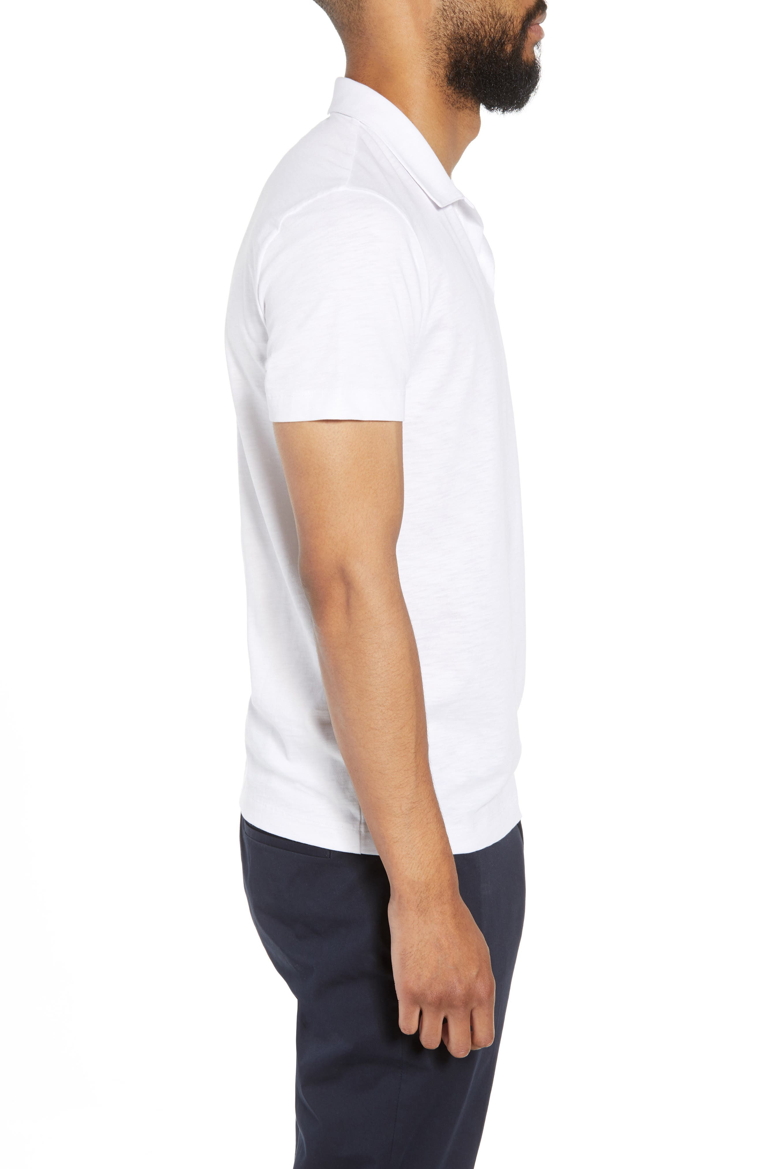 Willem Strato Regular Fit Polo,                             Alternate thumbnail 3, color,                             108