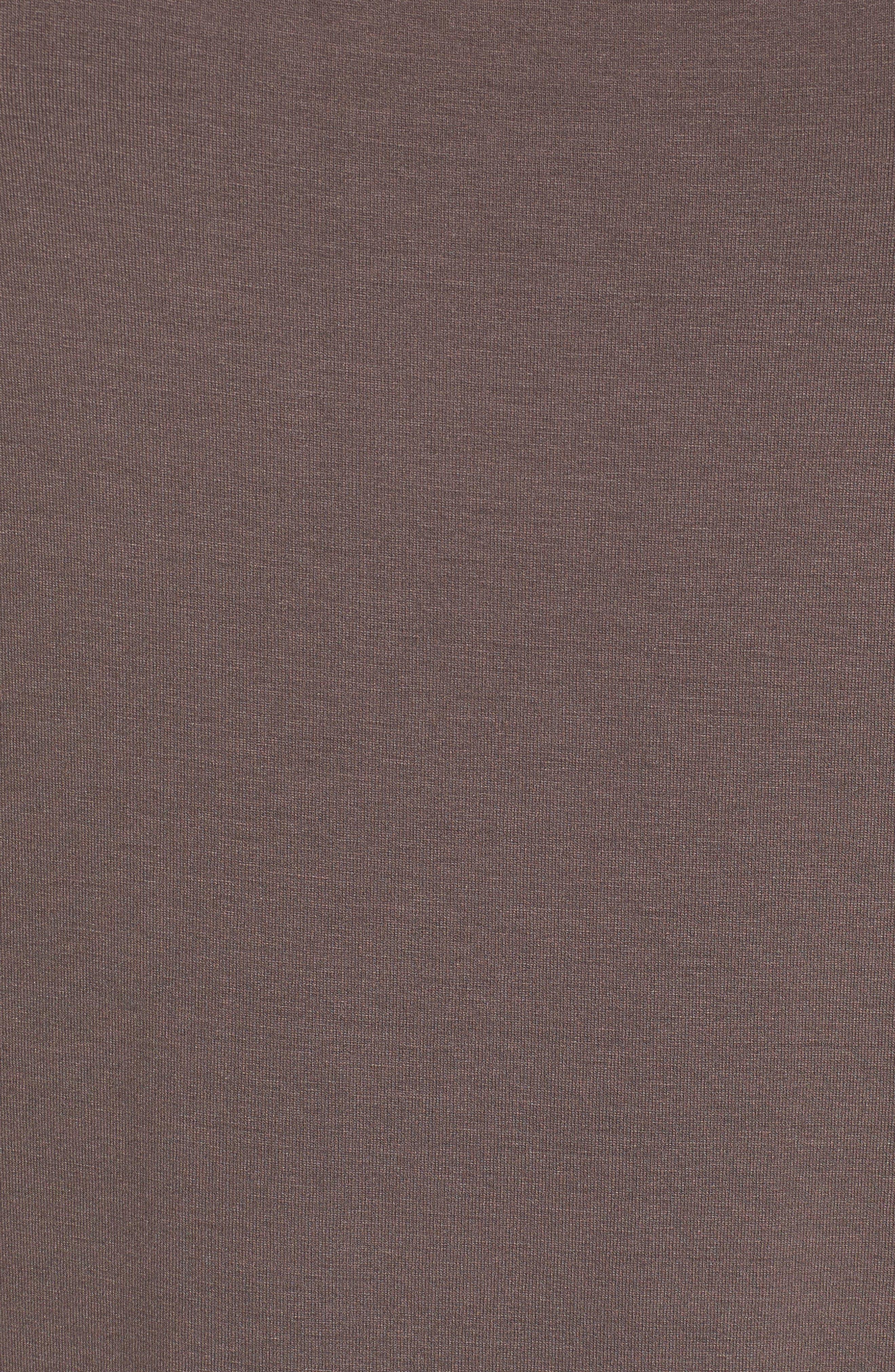 Scoop Neck Jersey Midi Dress,                             Alternate thumbnail 5, color,                             024