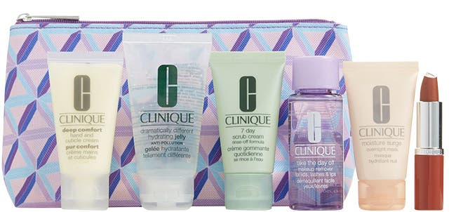 Choose your Clinique gift with purchase.