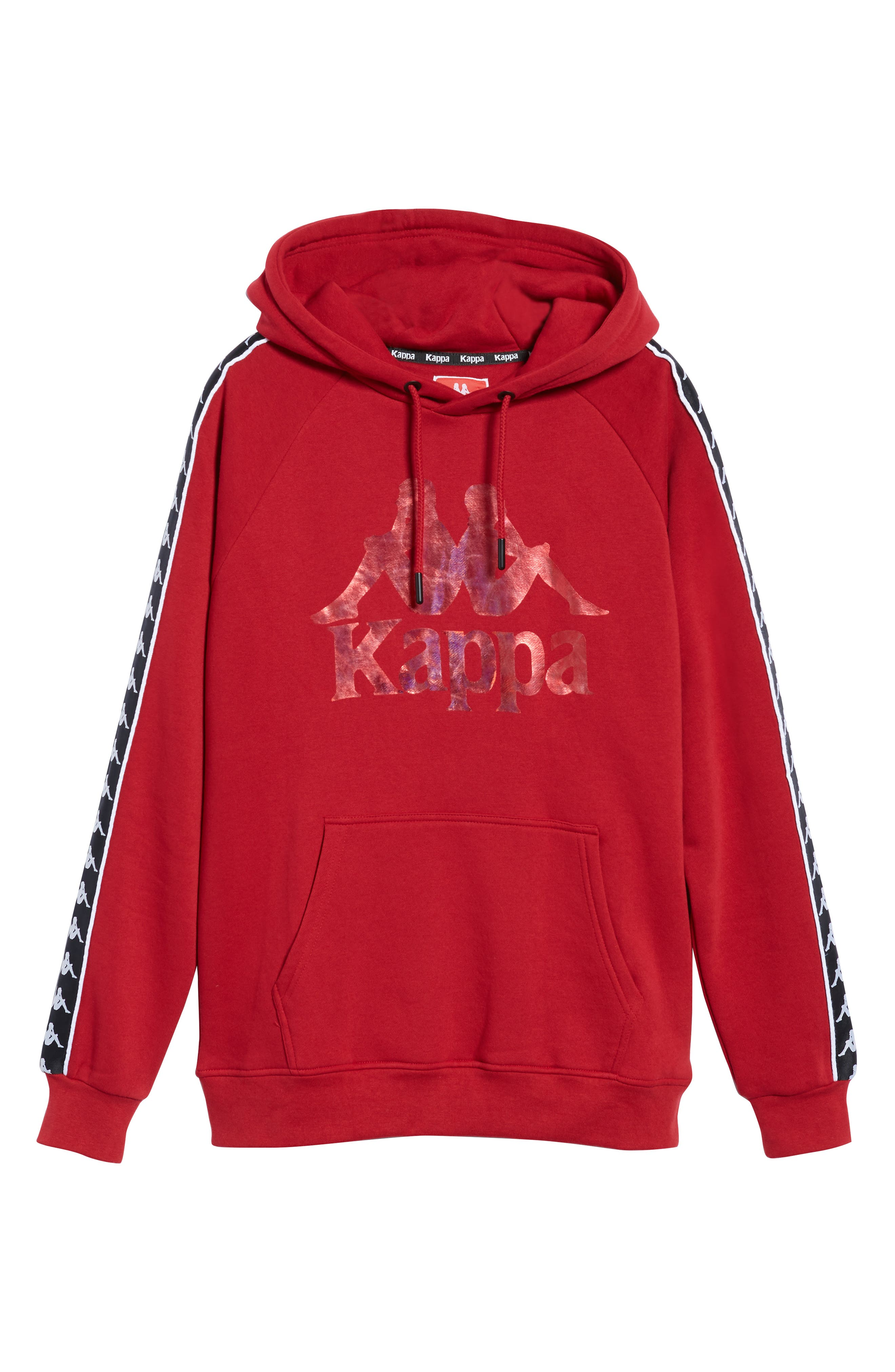 Banda Graphic Hoodie,                             Alternate thumbnail 6, color,                             RED/ BLACK/ WHITE