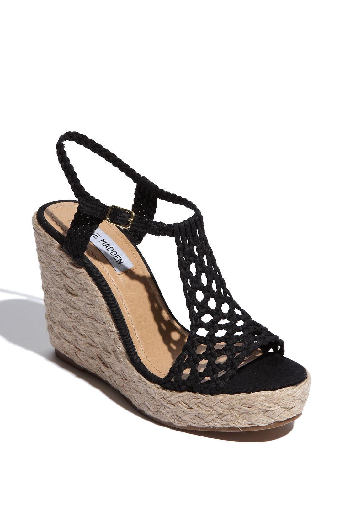 'Manngo' Woven Sandal,                             Main thumbnail 1, color,