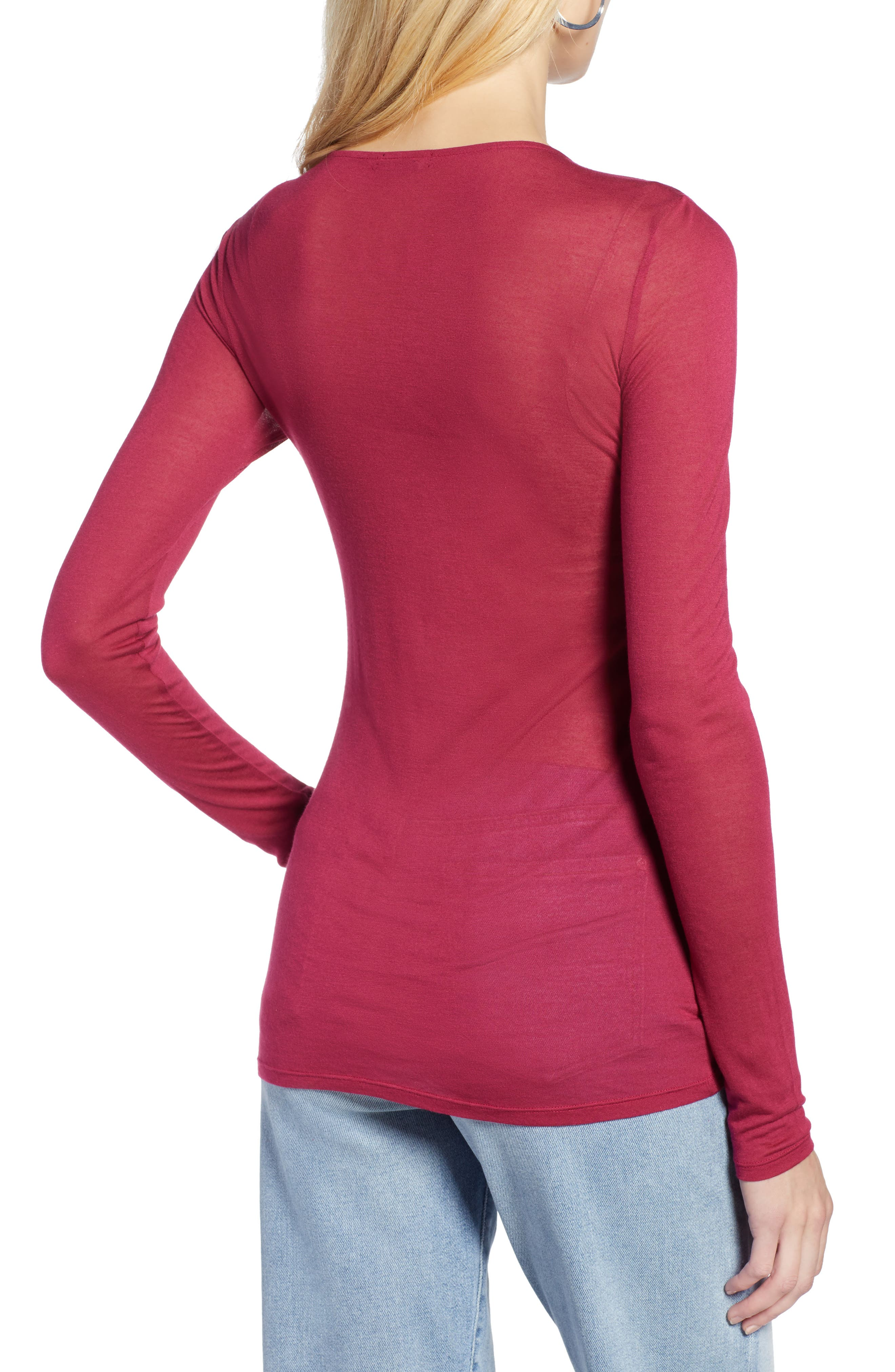Sheer Knit Top,                             Alternate thumbnail 2, color,                             938