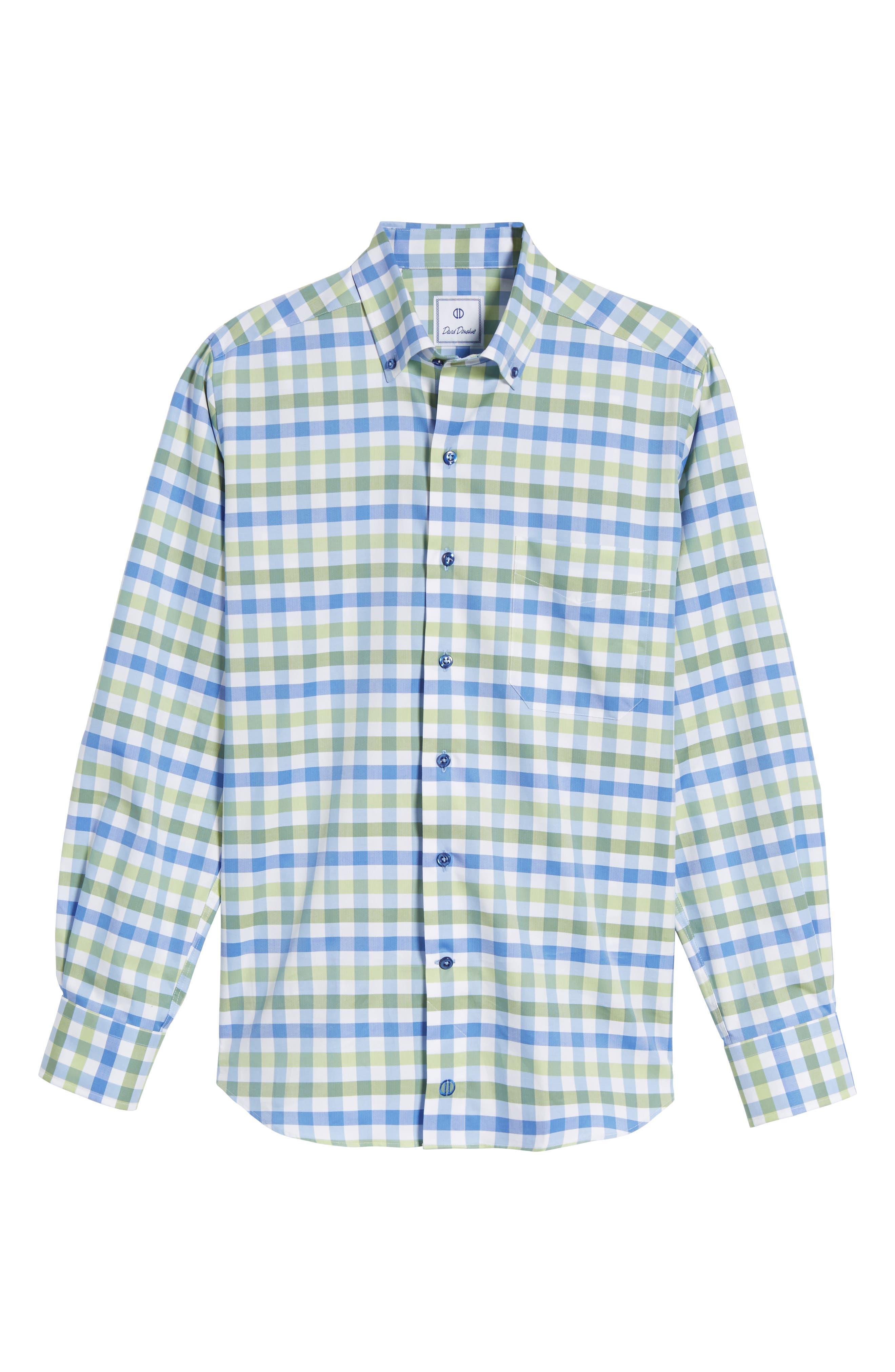 Regular Fit Check Sport Shirt,                             Alternate thumbnail 6, color,                             448