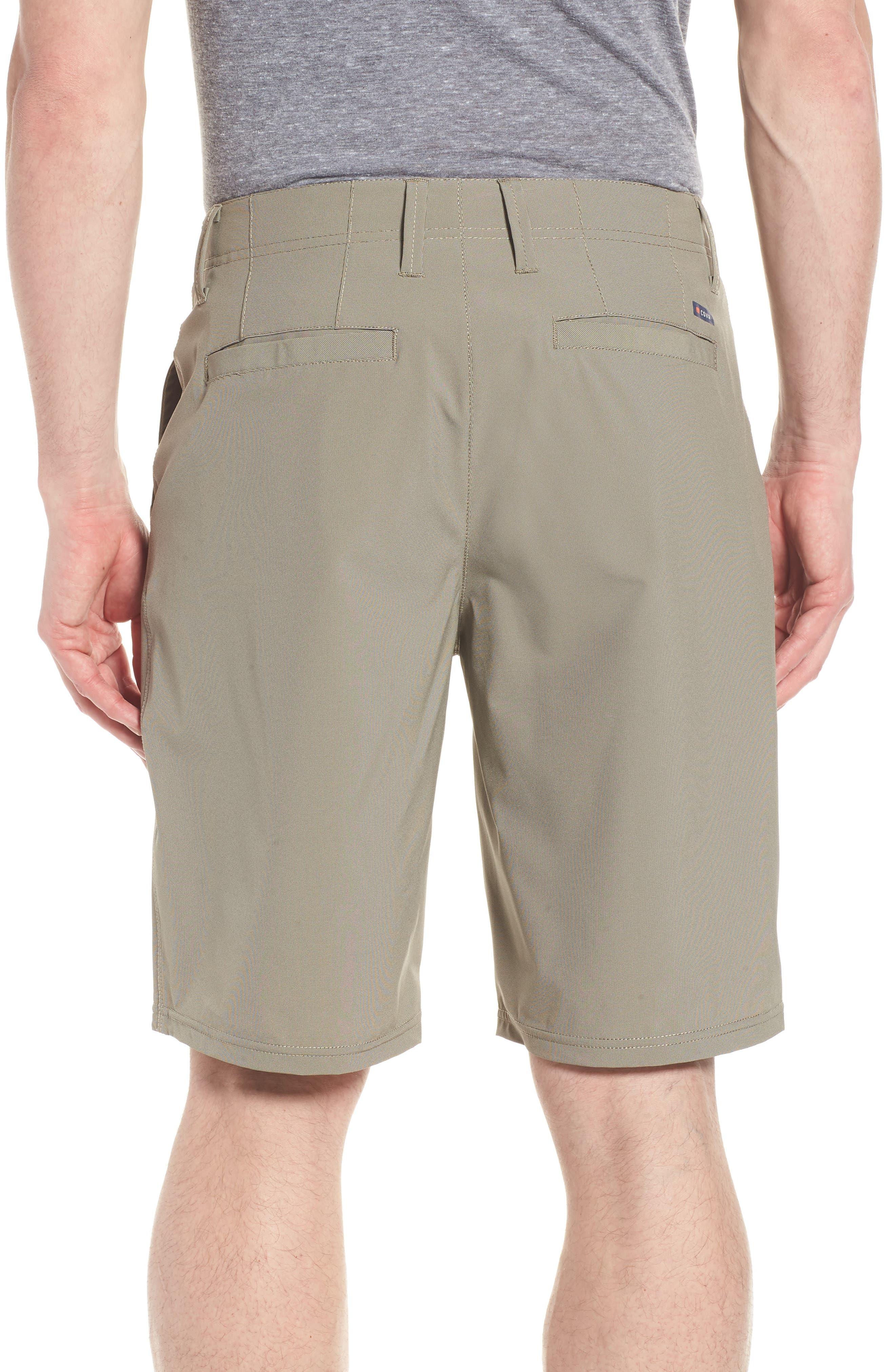 Seaside Hybrid Shorts,                             Alternate thumbnail 2, color,                             ESPRESSO