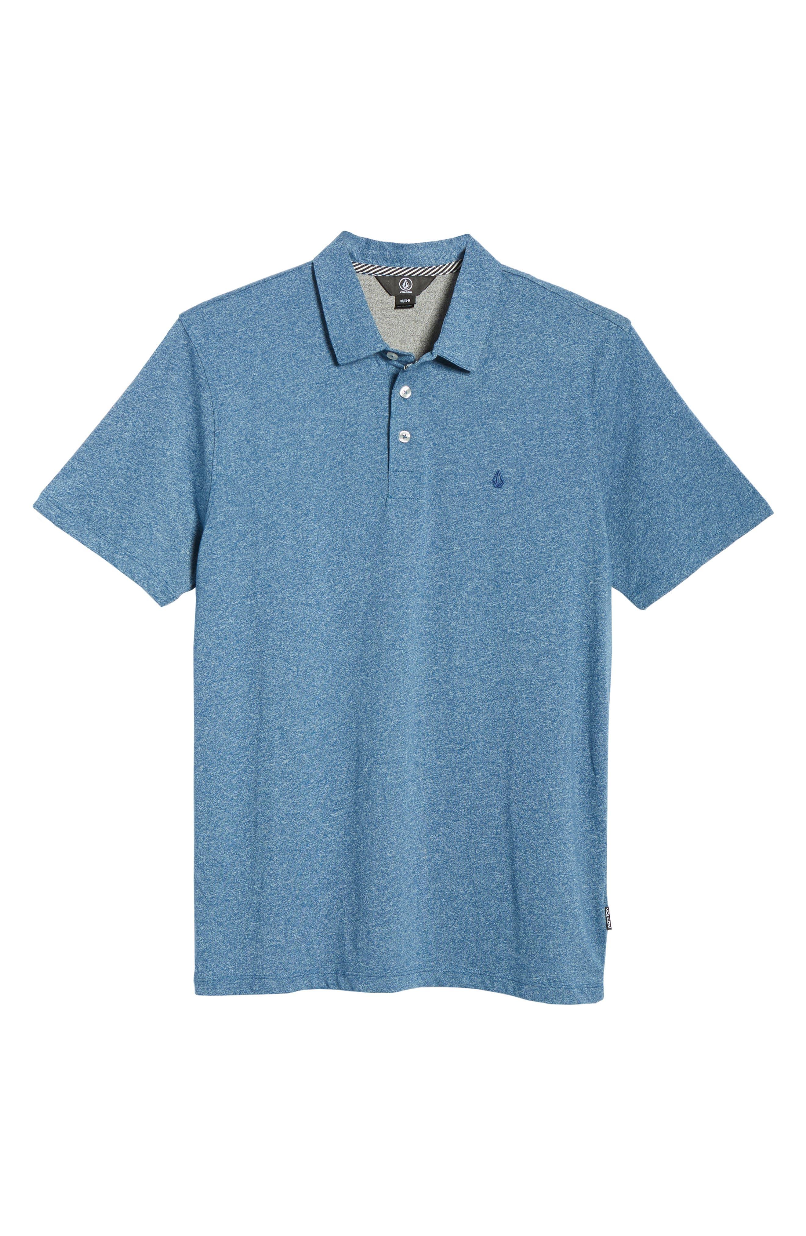 Wowzer Polo,                             Alternate thumbnail 6, color,                             BLUE VINTAGE