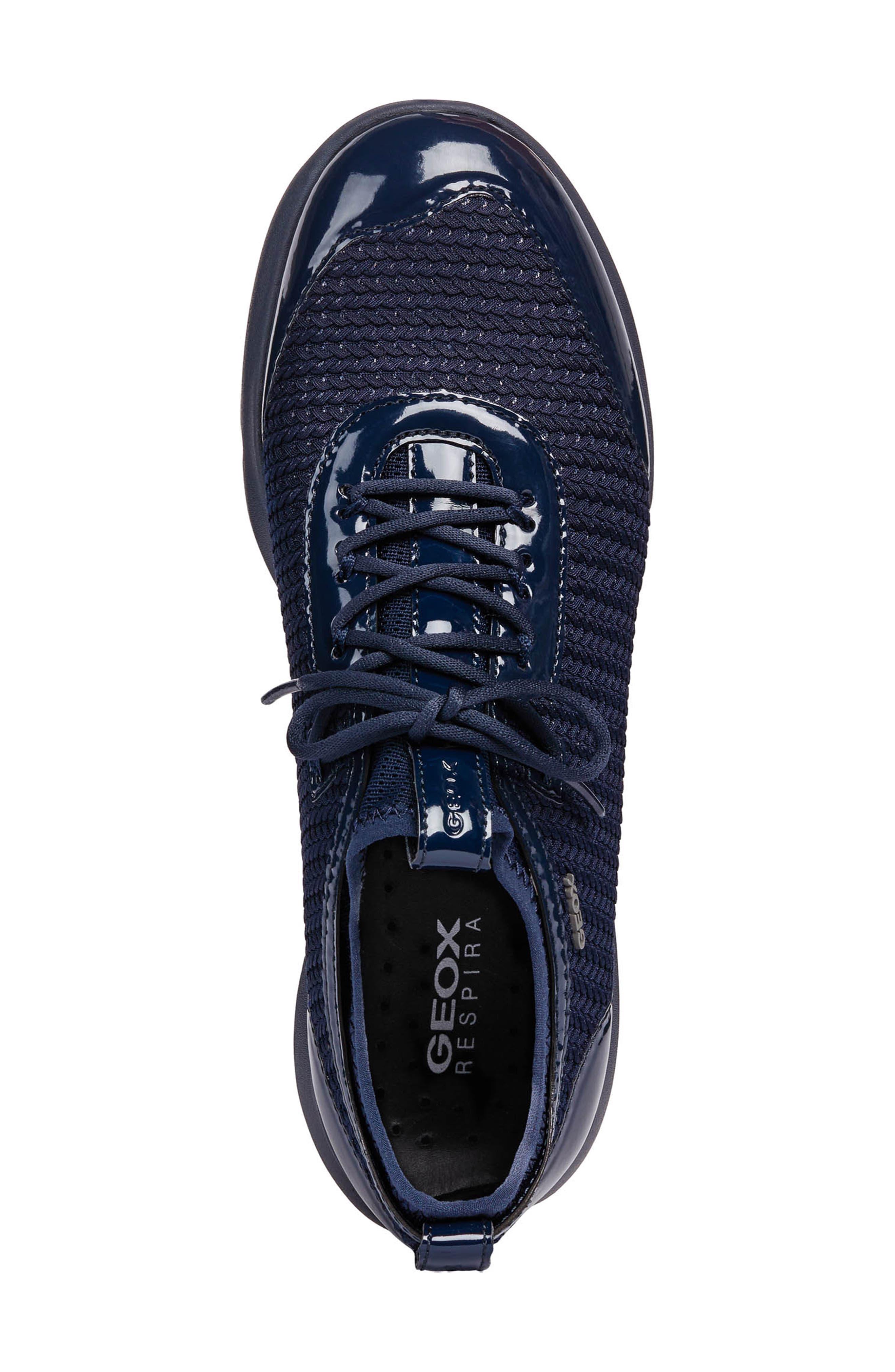 Nebula X Sneaker,                             Alternate thumbnail 4, color,                             NAVY FABRIC