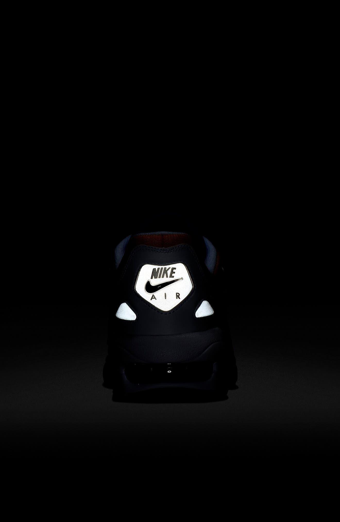 NIKE,                             Air Max2 Light Sneaker,                             Alternate thumbnail 6, color,                             GOLD CRIMSON/ BLUE