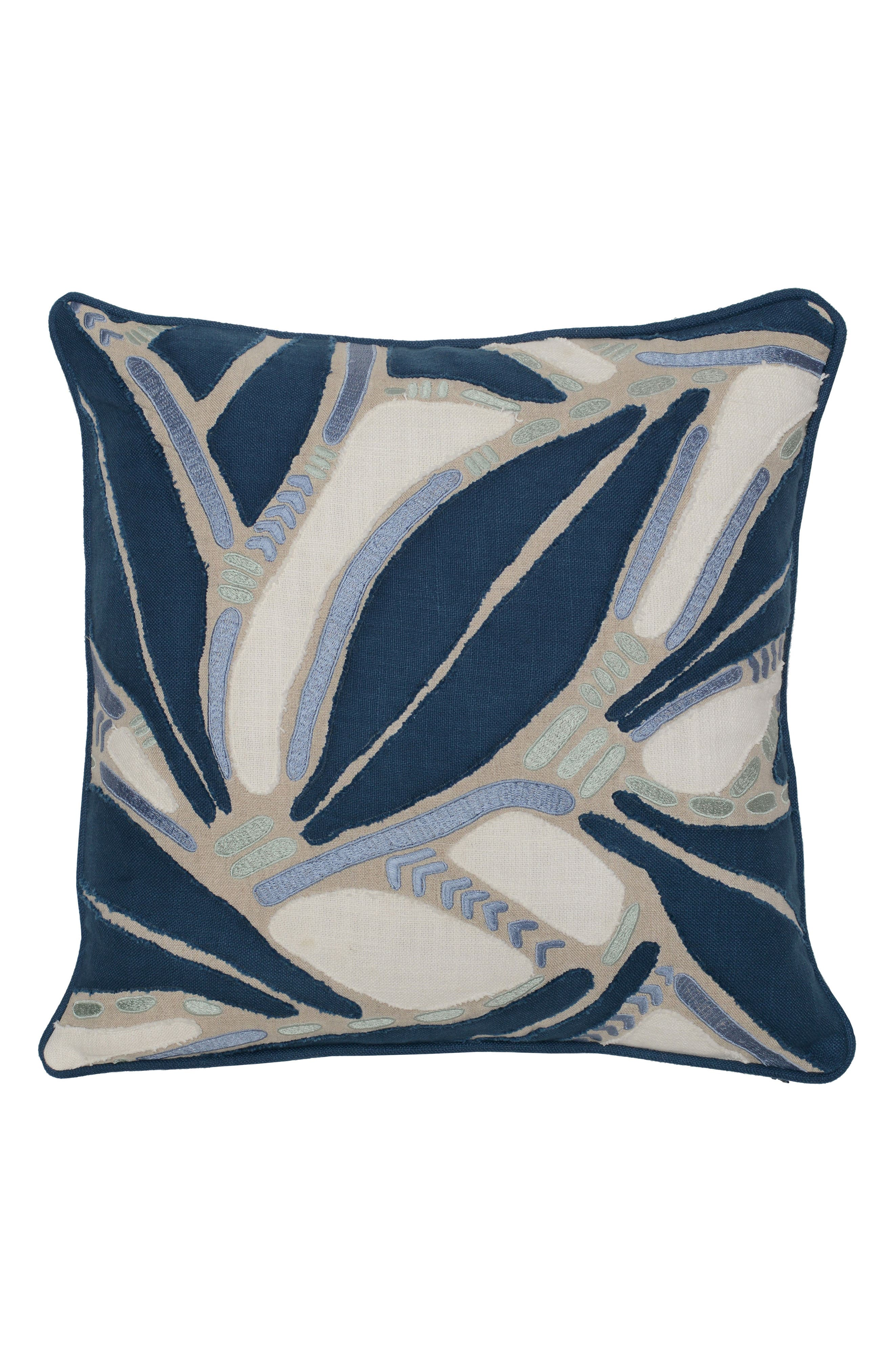 Lilo Accent Pillow,                         Main,                         color, NAVY/ BLUE