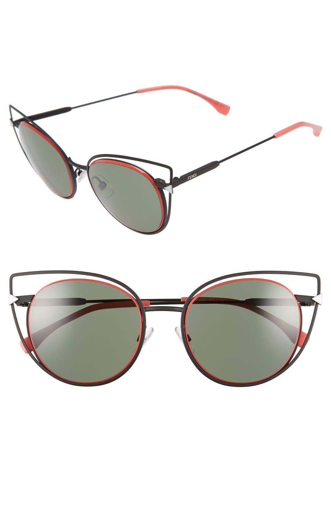 53mm Sunglasses,                             Main thumbnail 1, color,