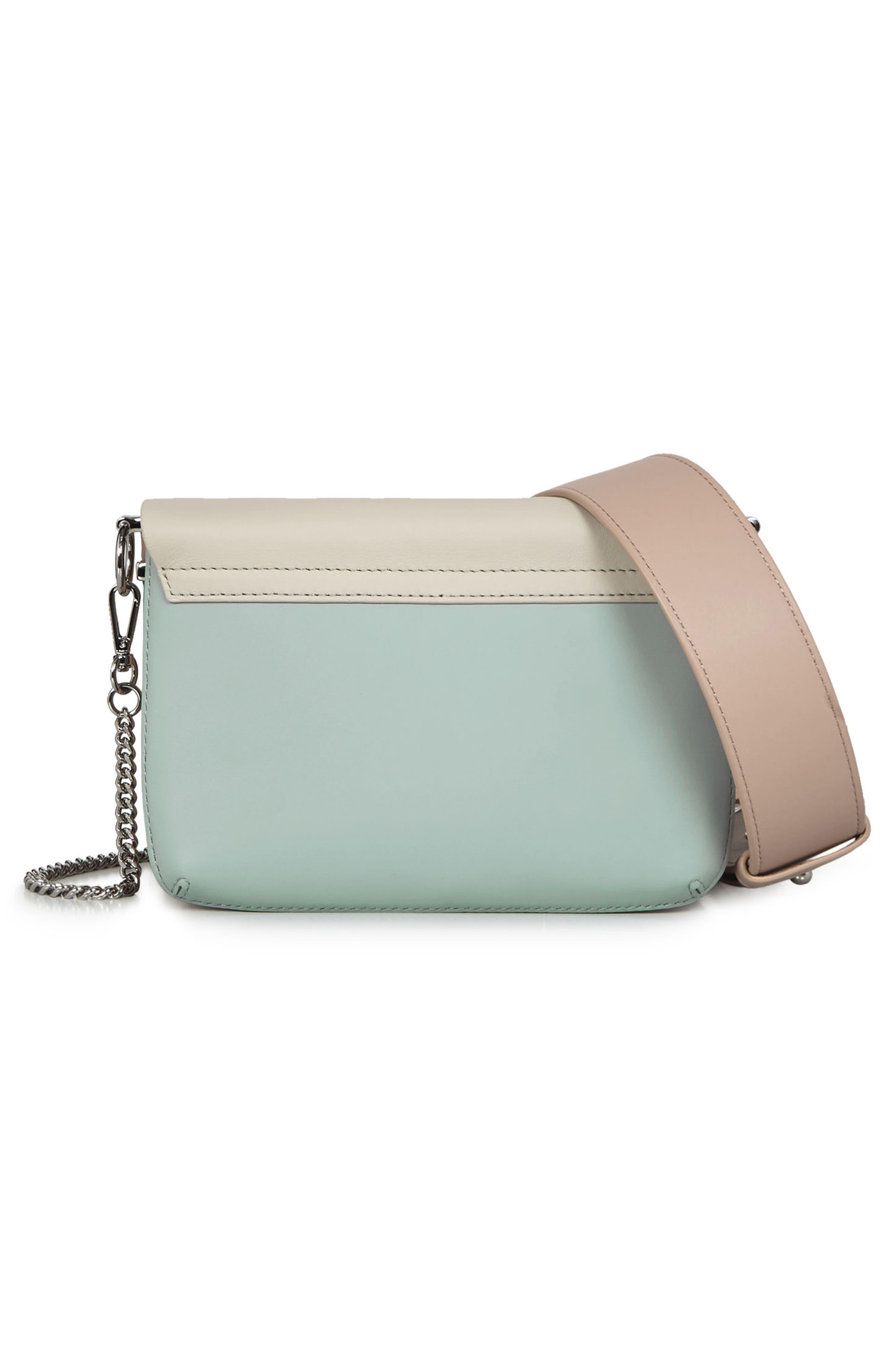 Zep Colorblock Leather Shoulder Bag,                             Alternate thumbnail 2, color,                             115