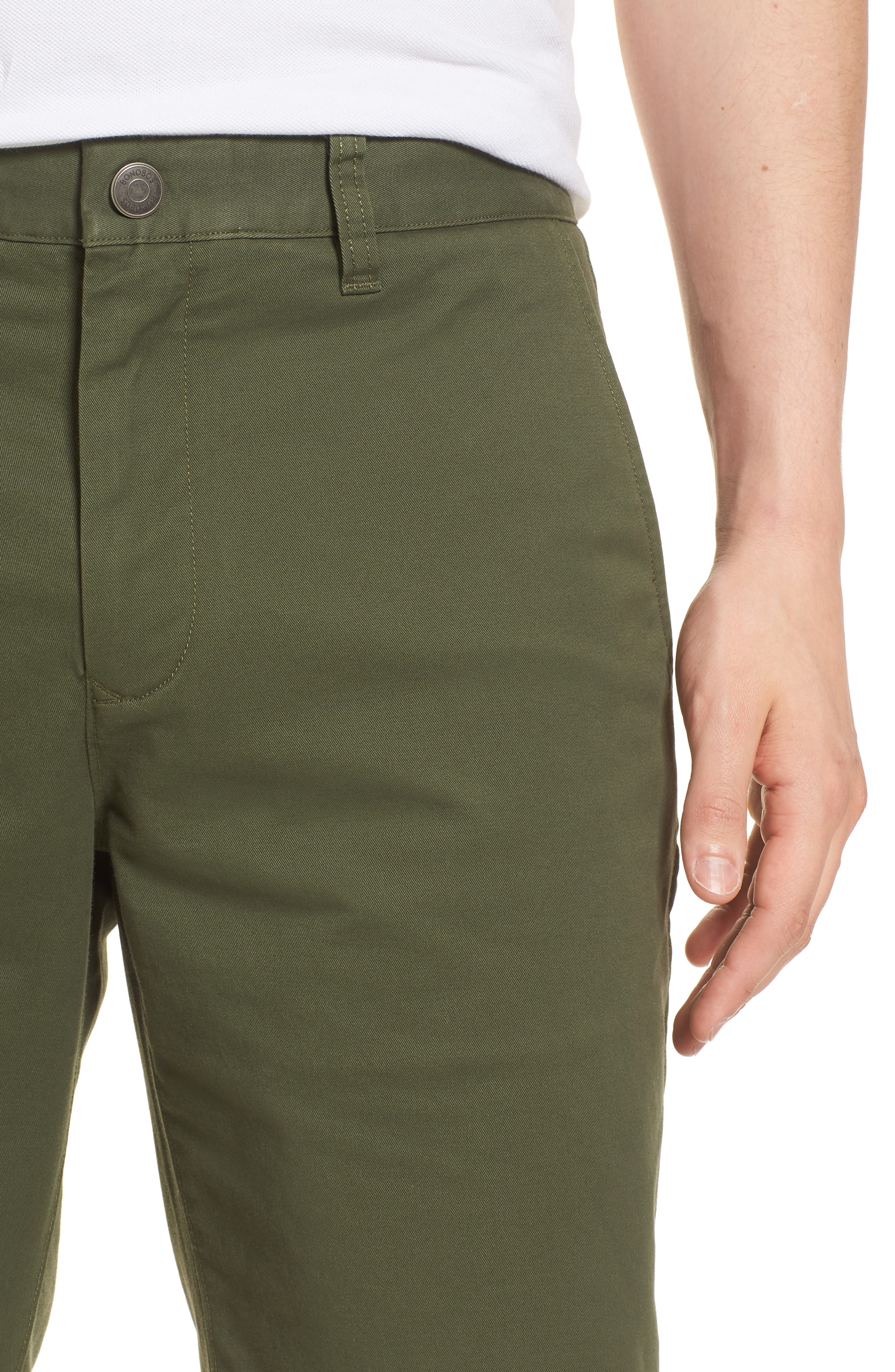 Stretch Washed Chino 11-Inch Shorts,                             Alternate thumbnail 35, color,
