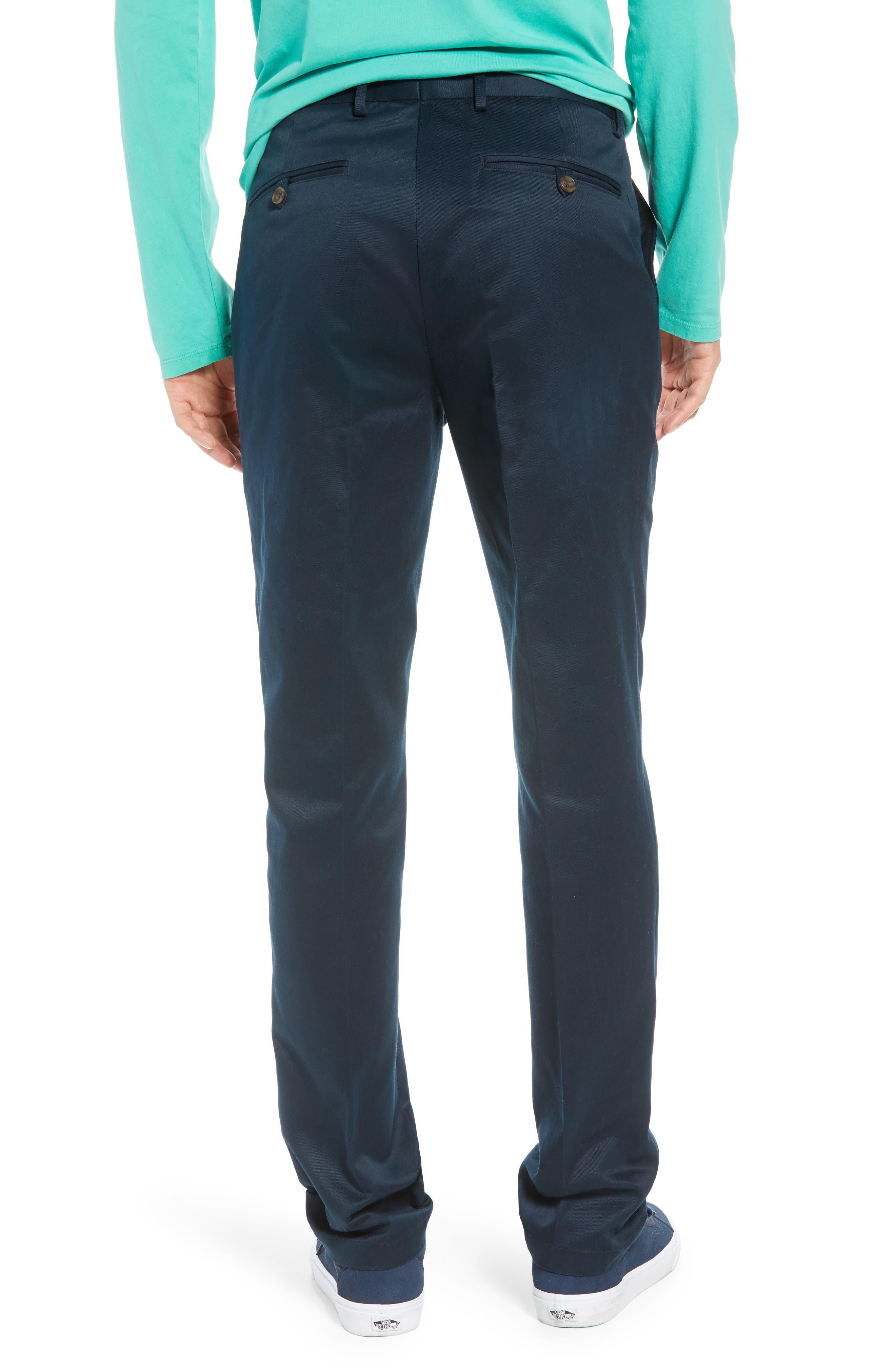 Leon Regular Fit Pants,                             Alternate thumbnail 2, color,                             MIDNIGHT