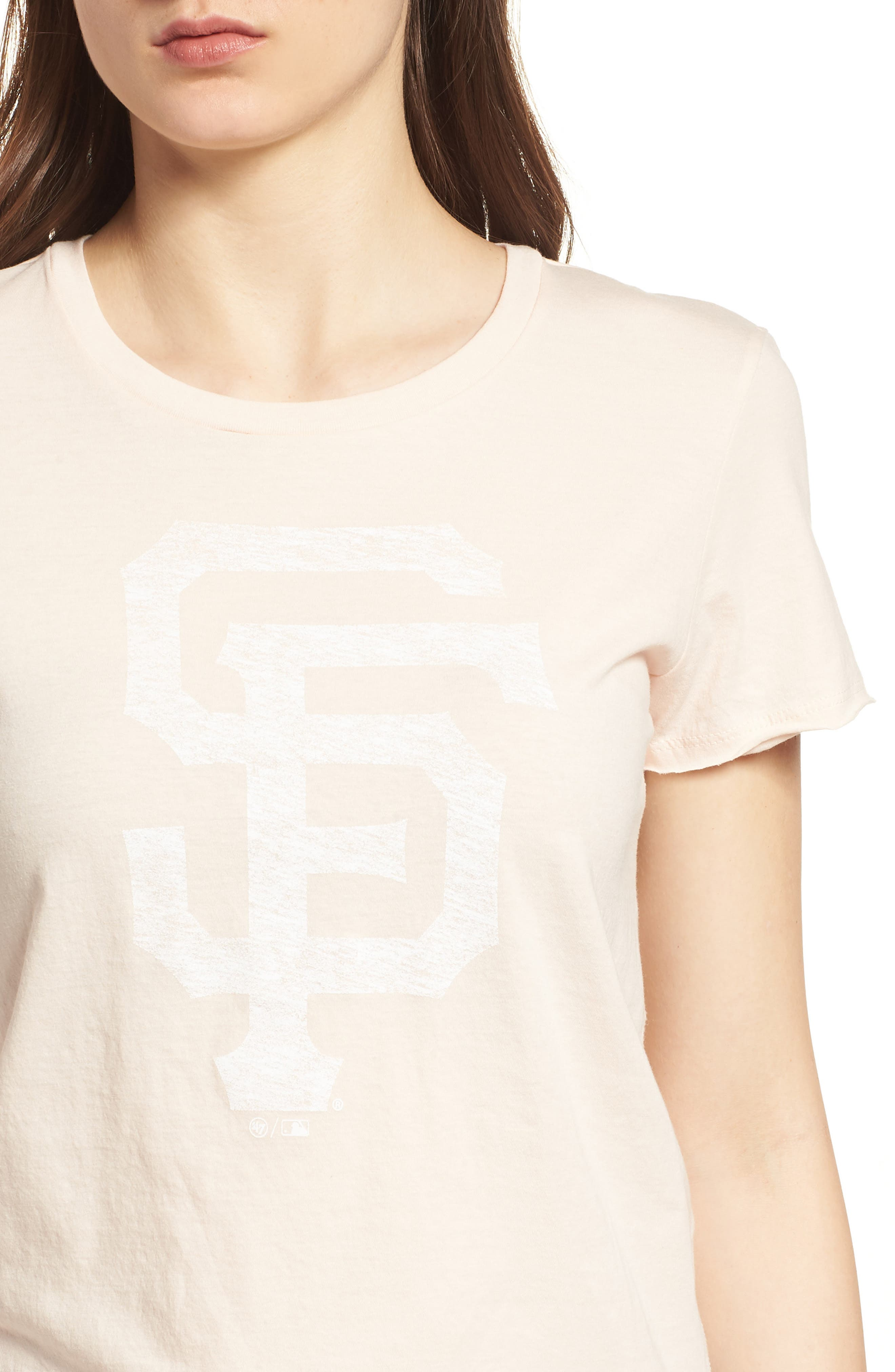 San Francisco Giants Fader Letter Tee,                             Alternate thumbnail 4, color,                             650
