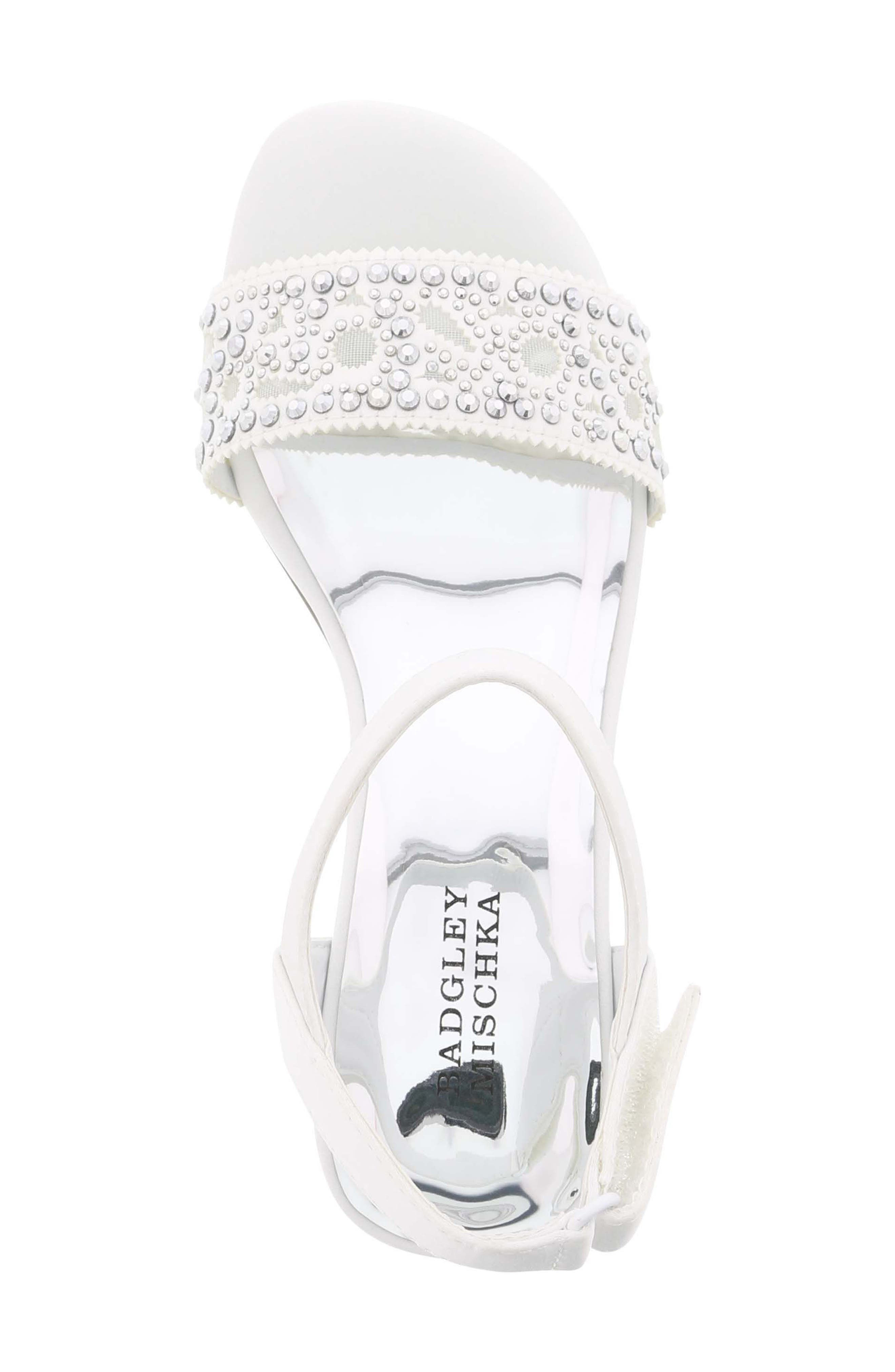 Ascot Gems Sandal,                             Alternate thumbnail 5, color,                             100
