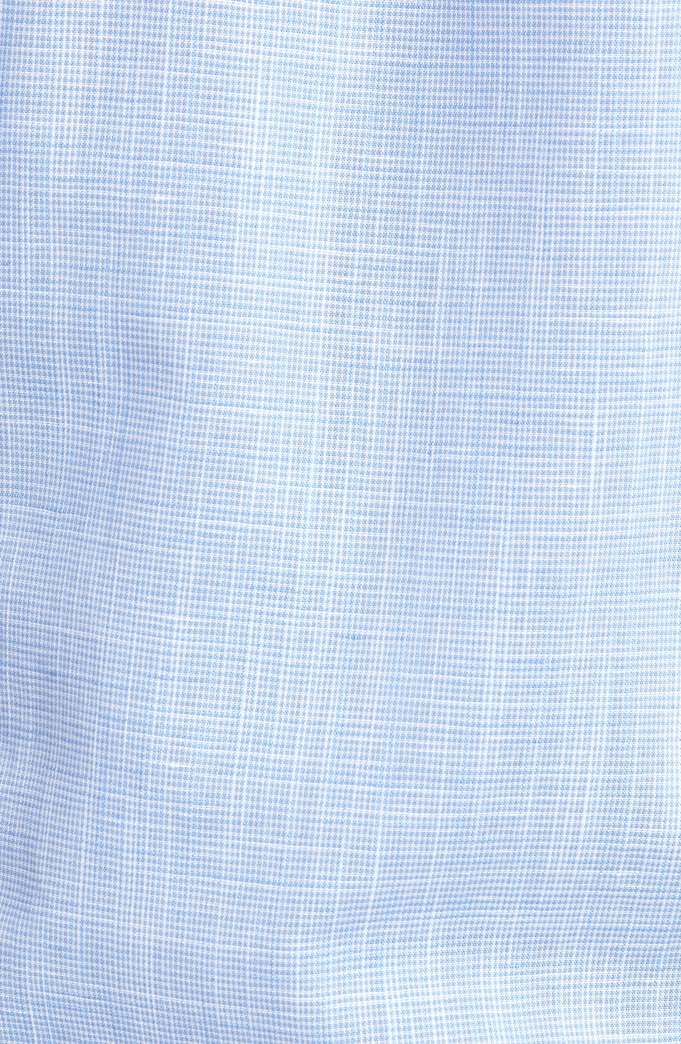 ROBERT GRAHAM,                             Isia Tailored Fit Sport Shirt,                             Alternate thumbnail 5, color,                             400
