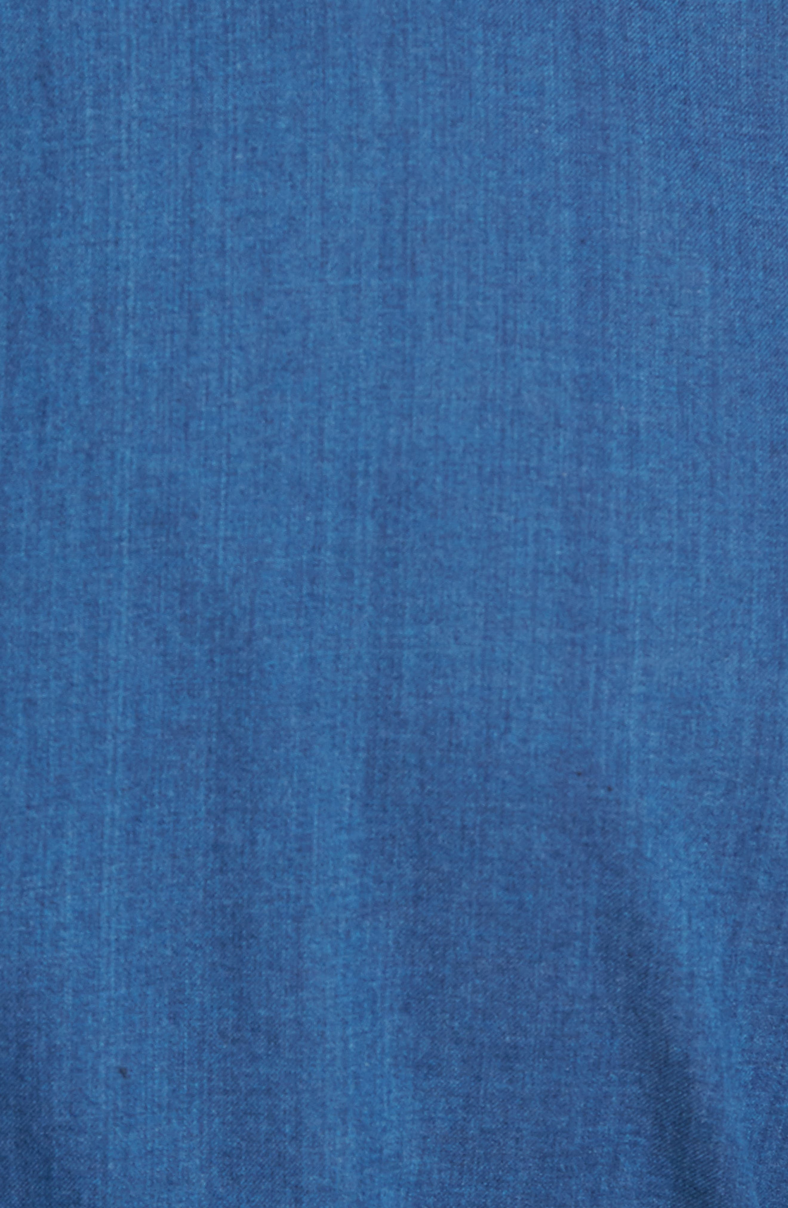 Crown Vintage Regular Fit Denim Sport Shirt,                             Alternate thumbnail 5, color,                             405