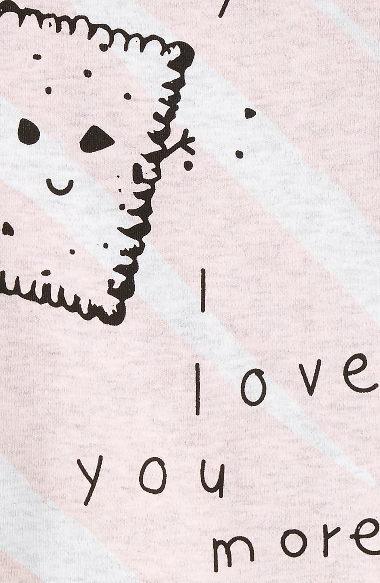 I Love You Romper,                             Alternate thumbnail 2, color,                             655