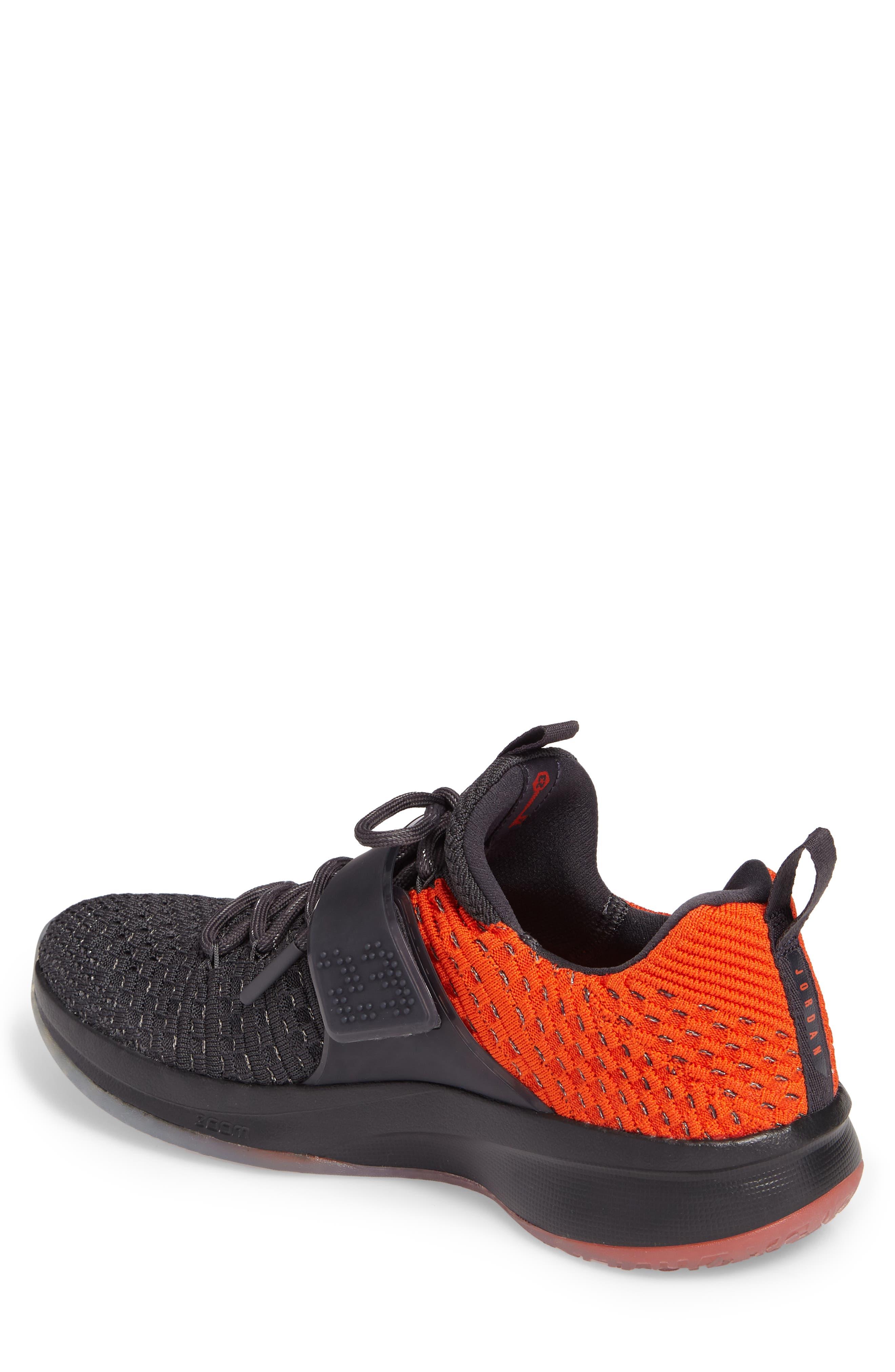 Jordan Flyknit Trainer 2 Low Sneaker,                             Alternate thumbnail 7, color,