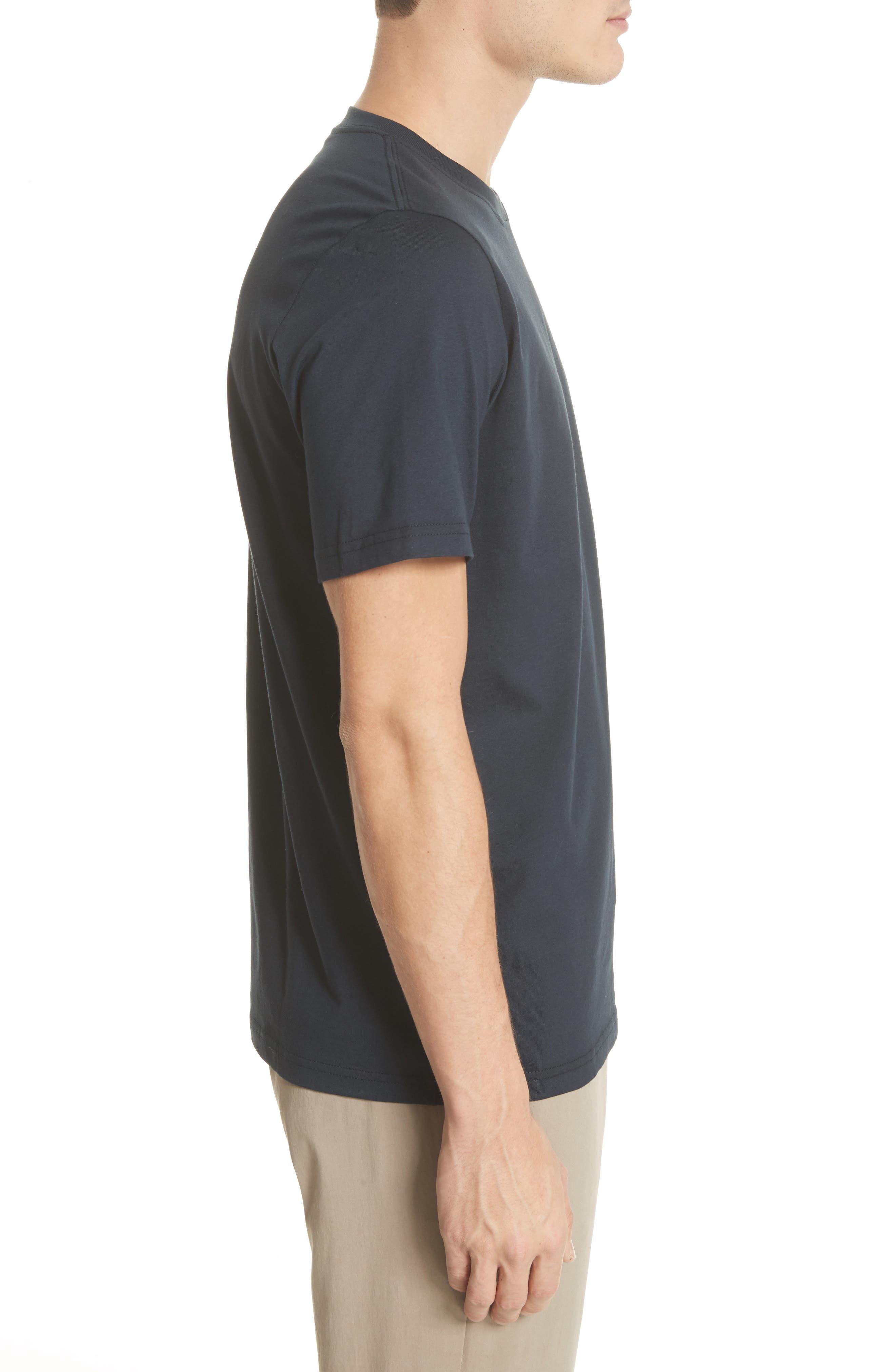 Dot Zebra Graphic T-Shirt,                             Alternate thumbnail 3, color,
