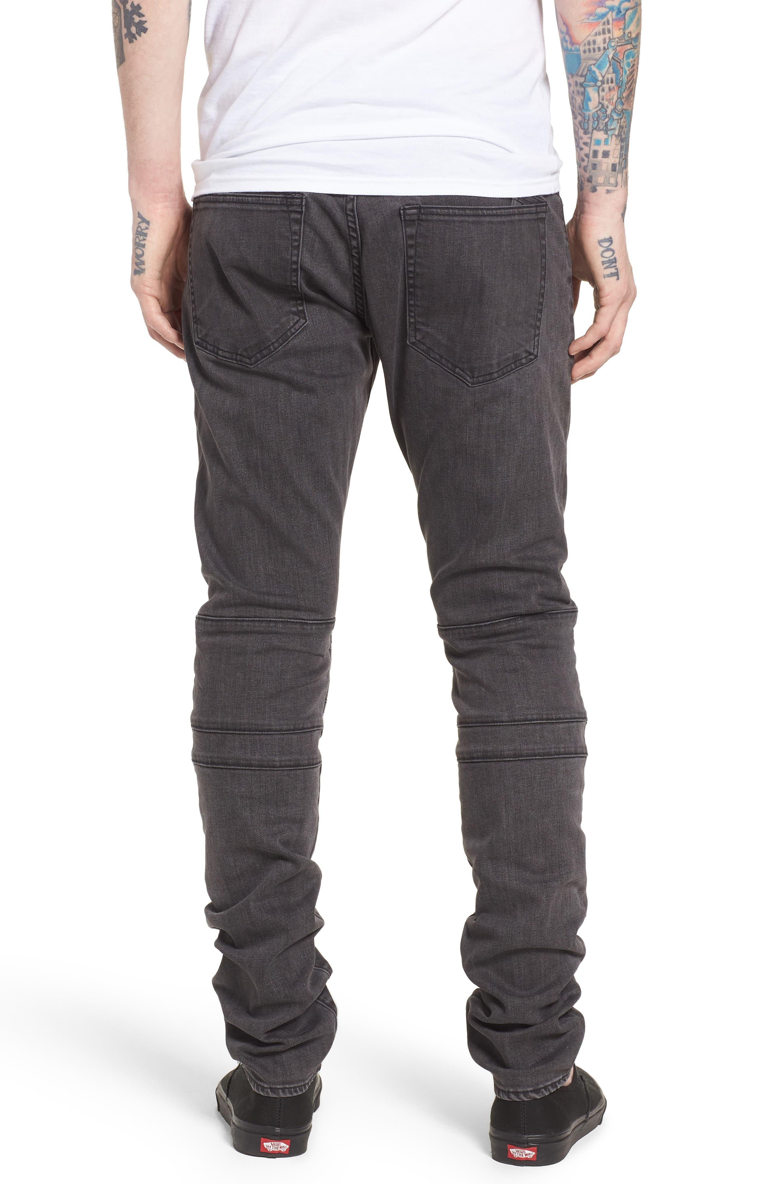 Le Sabre Slim Fit Jeans,                             Alternate thumbnail 2, color,                             FESTIVAL