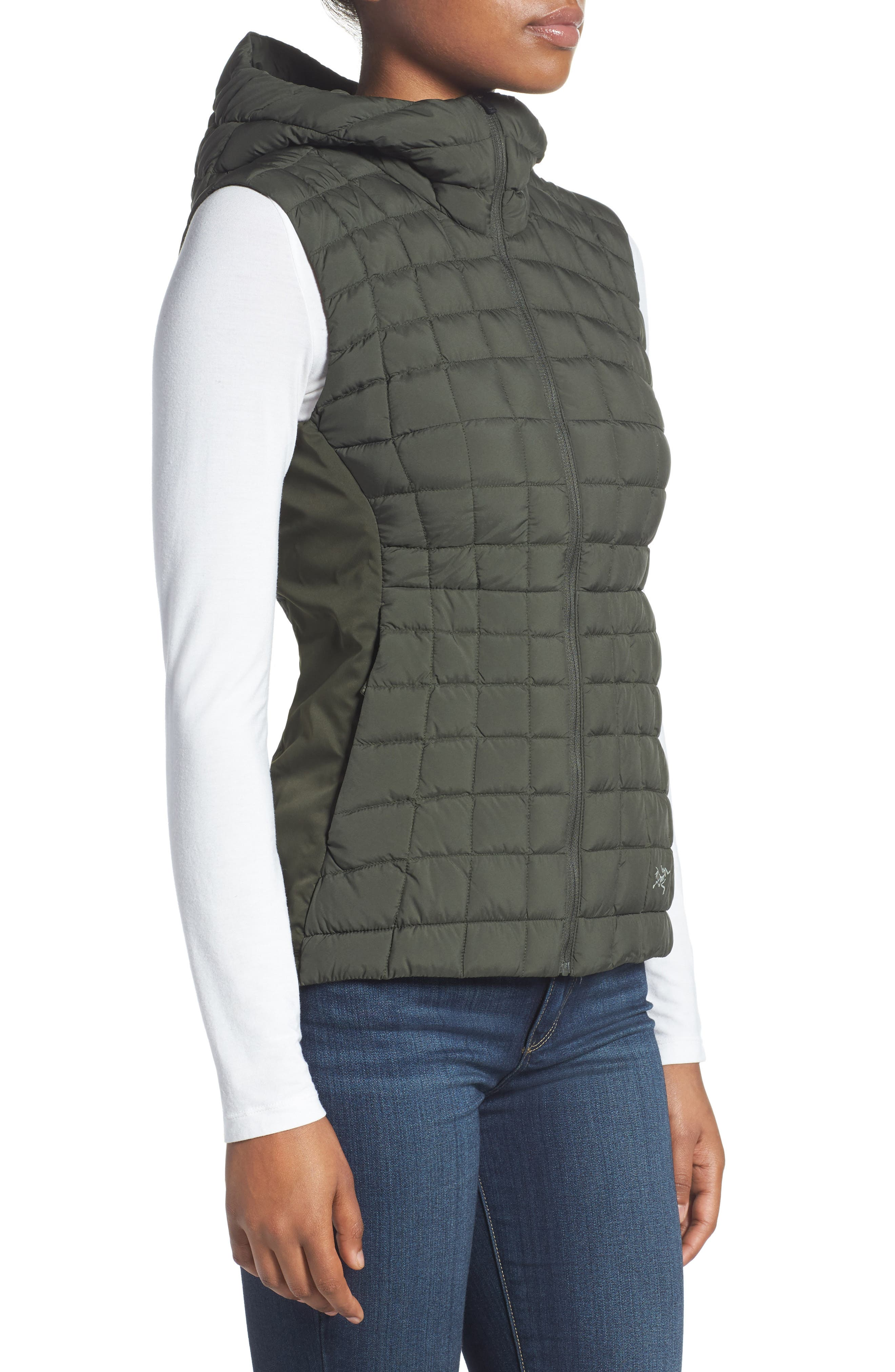 'Narin' Water Repellent Vest,                             Alternate thumbnail 3, color,                             300