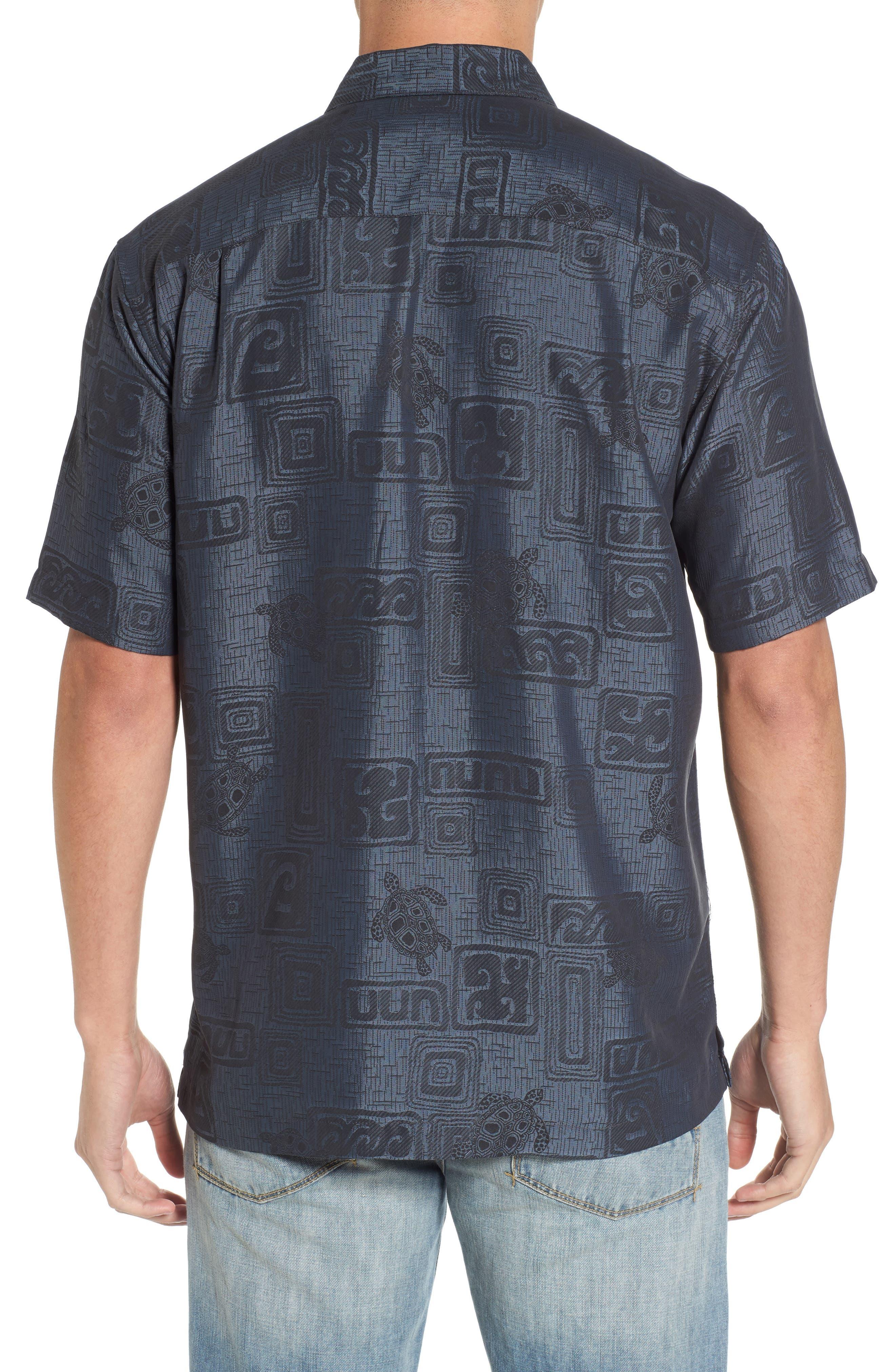 Sea Shells Classic Fit Sport Shirt,                             Alternate thumbnail 2, color,                             060