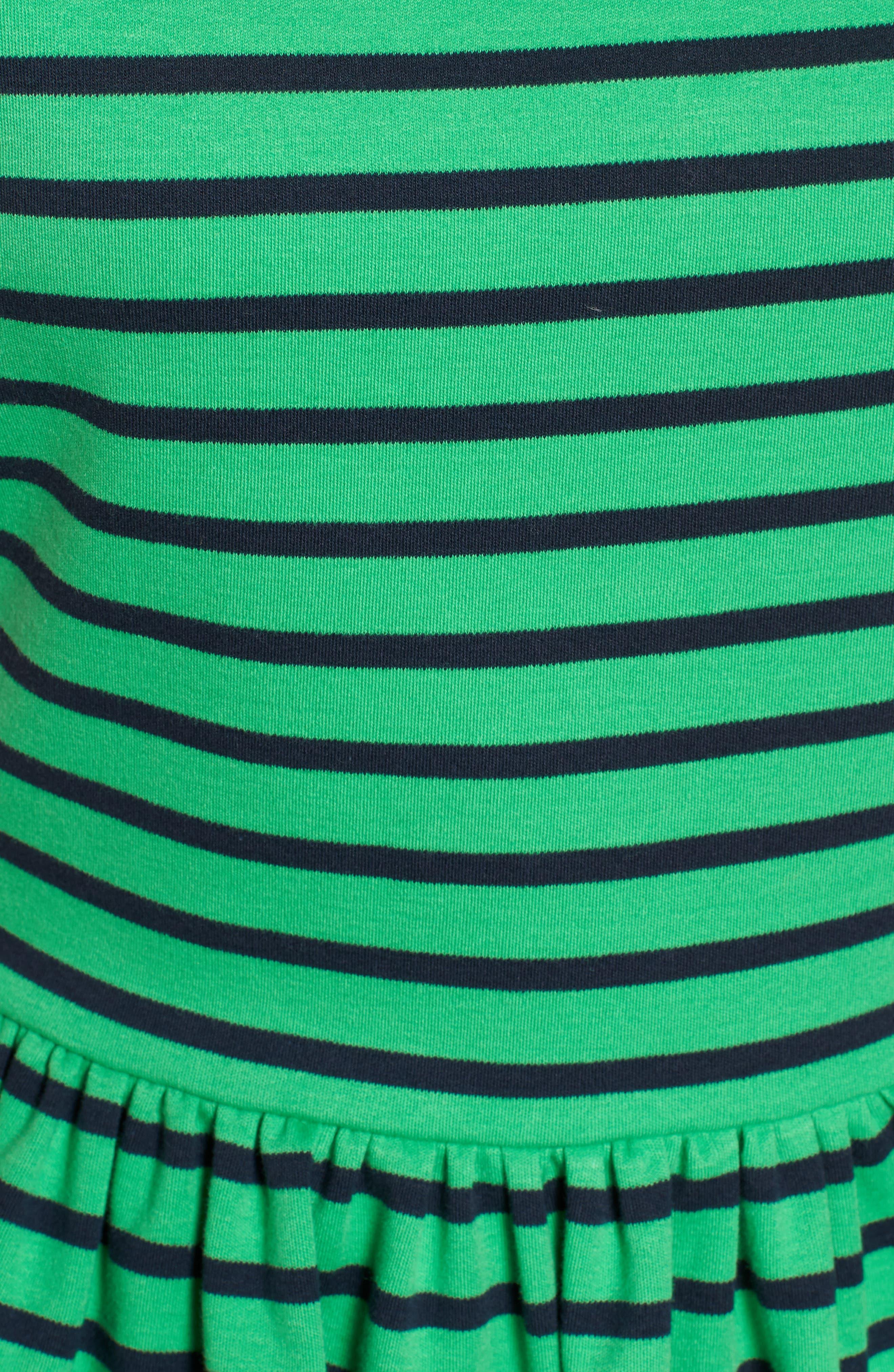 Stripe Knit Peplum Top,                             Alternate thumbnail 17, color,