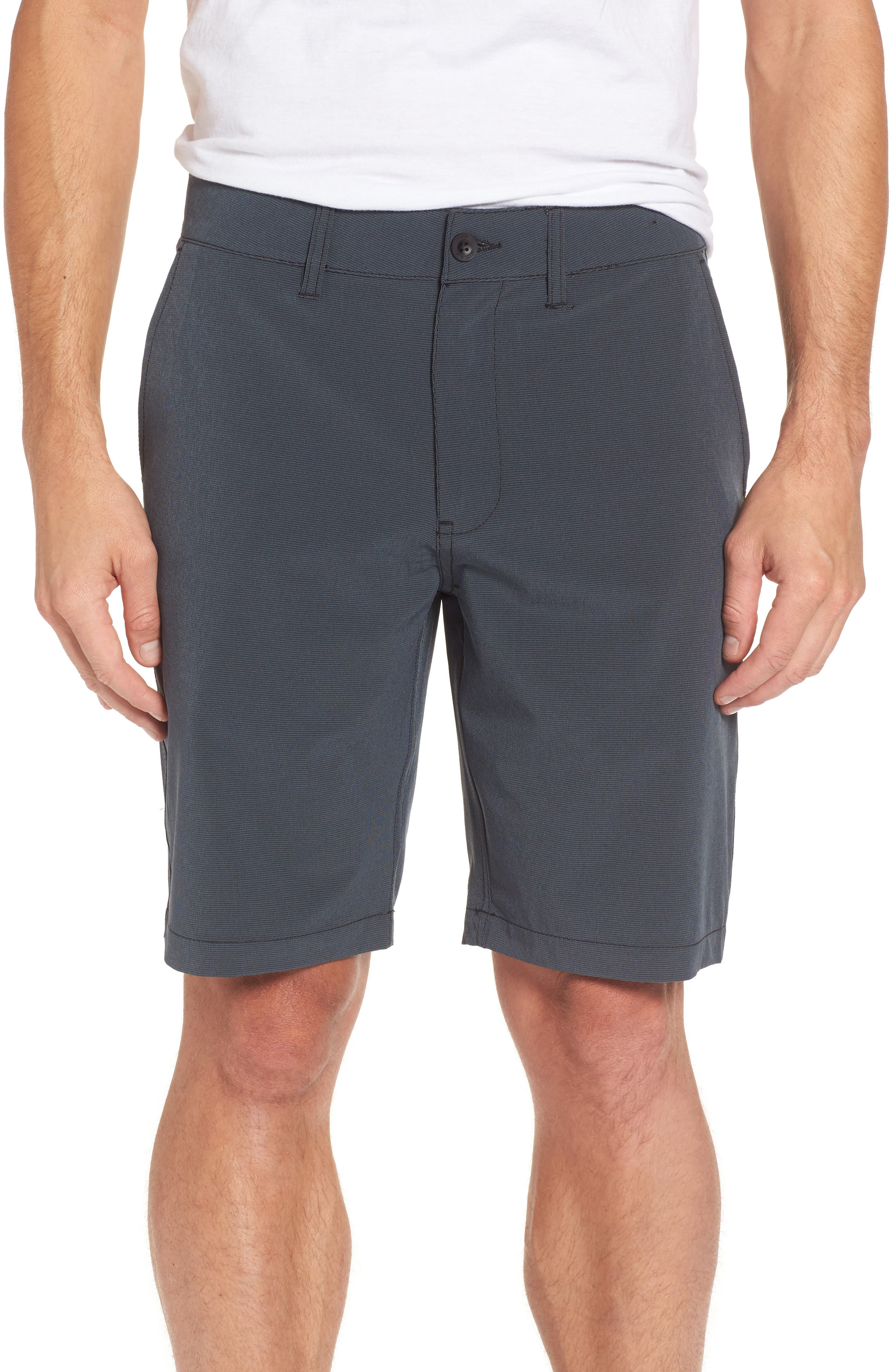 Grid Hybrid Shorts,                             Main thumbnail 1, color,                             001