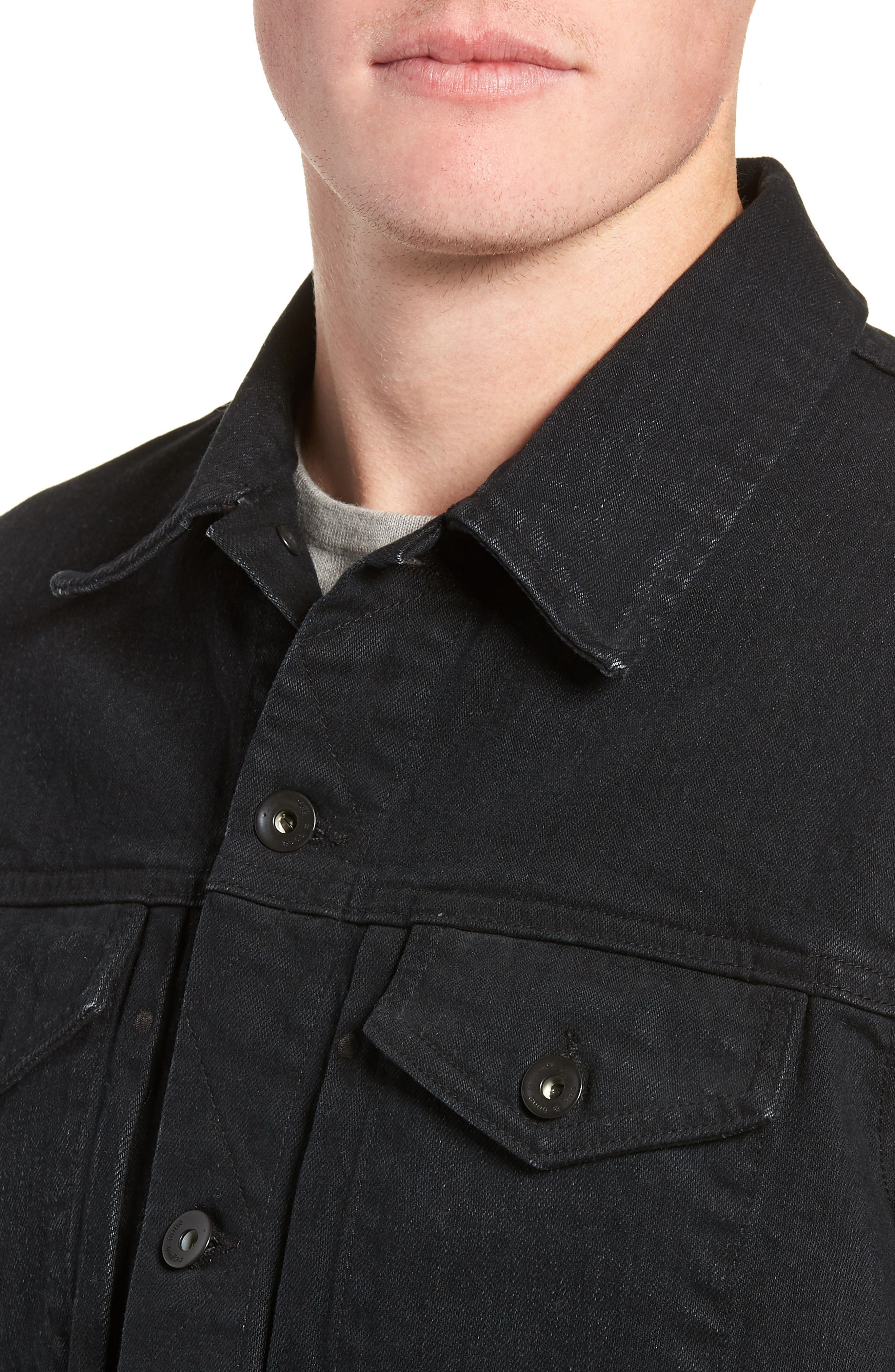 Definitive Jean Jacket,                             Alternate thumbnail 4, color,                             012
