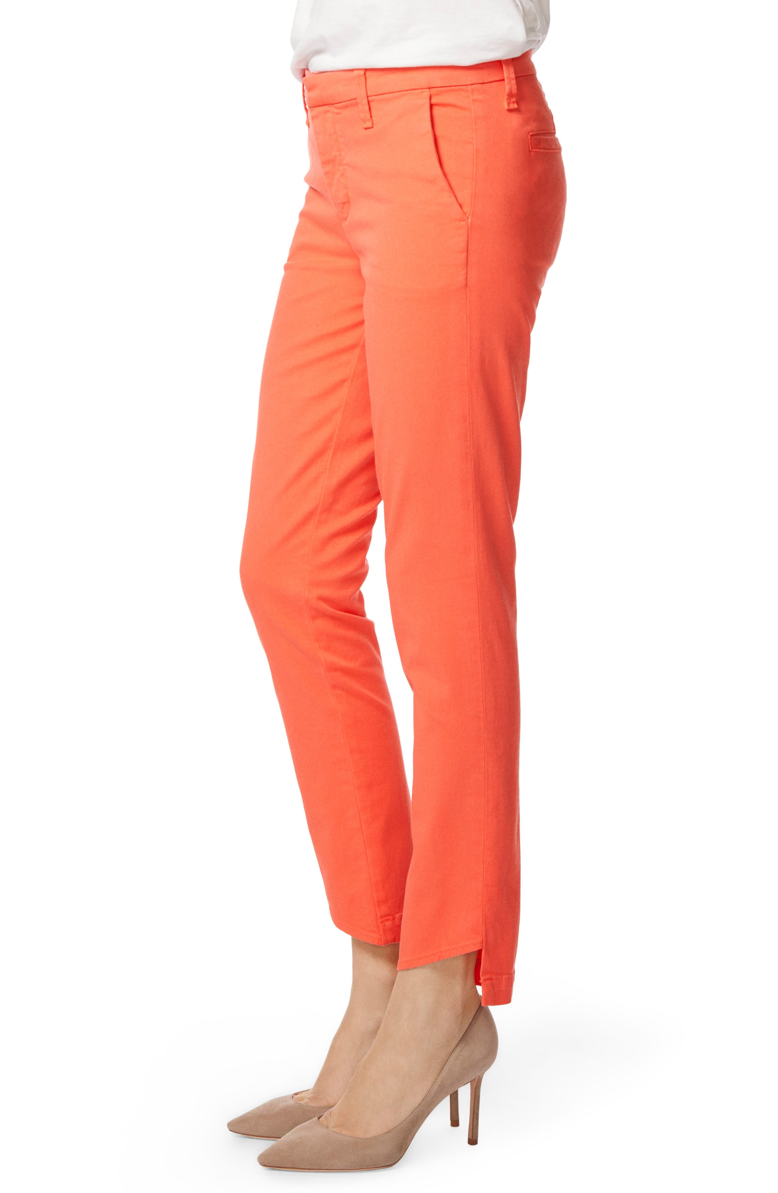 Clara Trousers,                             Alternate thumbnail 3, color,                             PASSION FRUIT