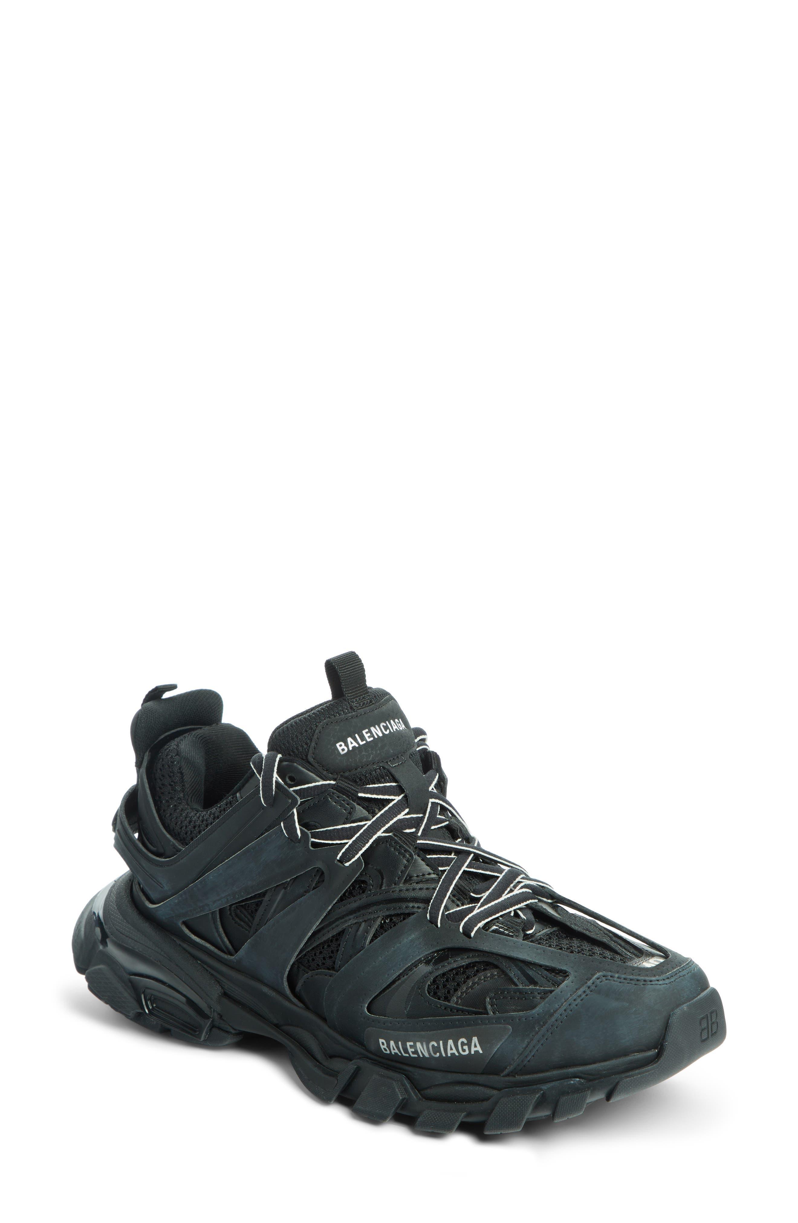 Track Sneaker in Black