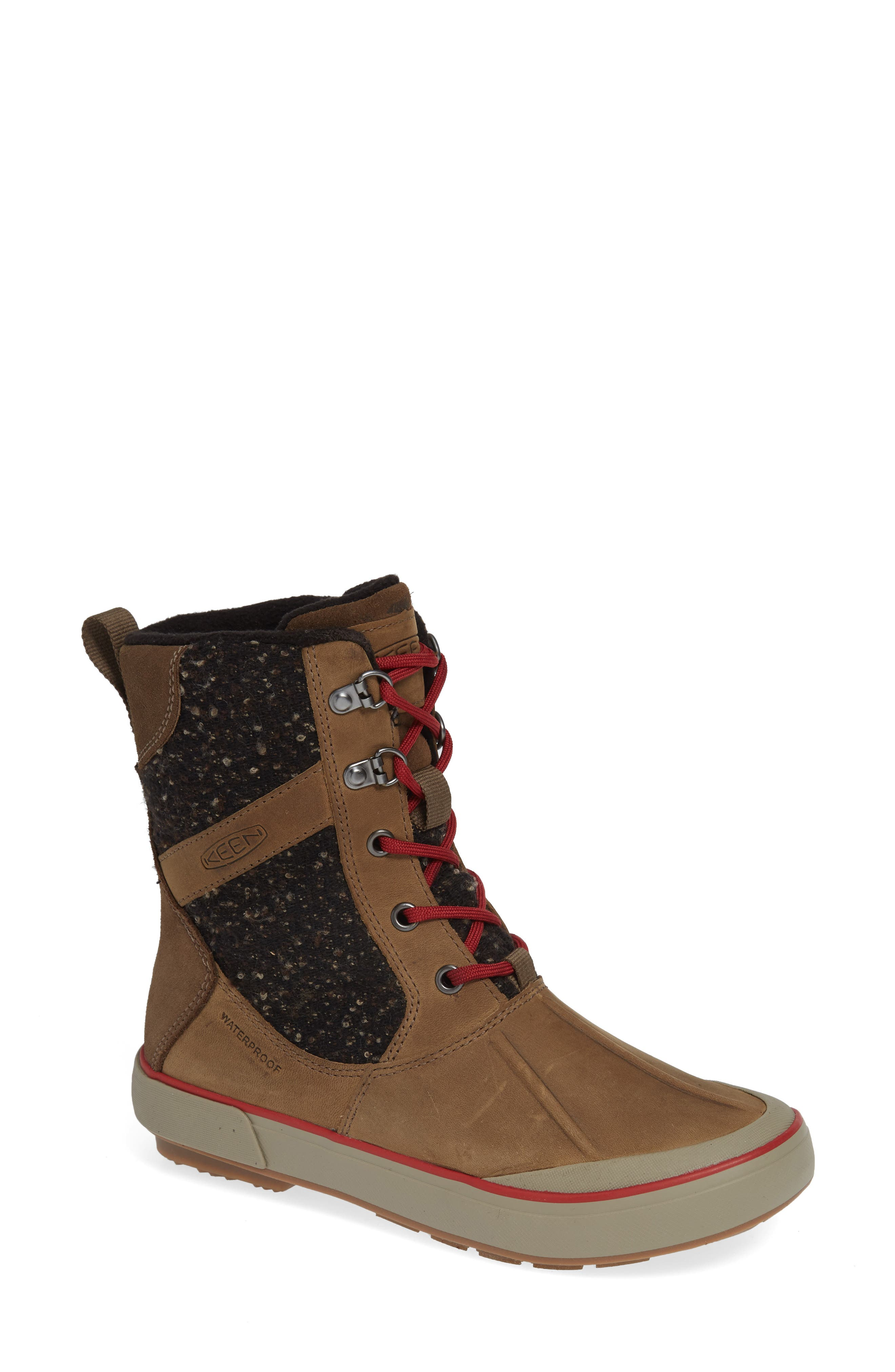 Keen Elsa Ii Waterproof Winter Bootie- Brown