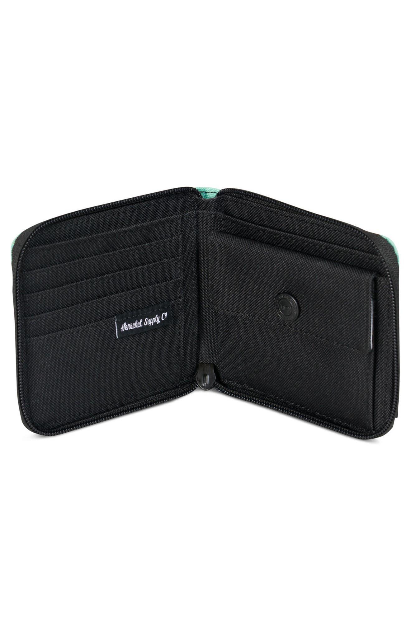 Walt RFID Zip Wallet,                             Alternate thumbnail 6, color,