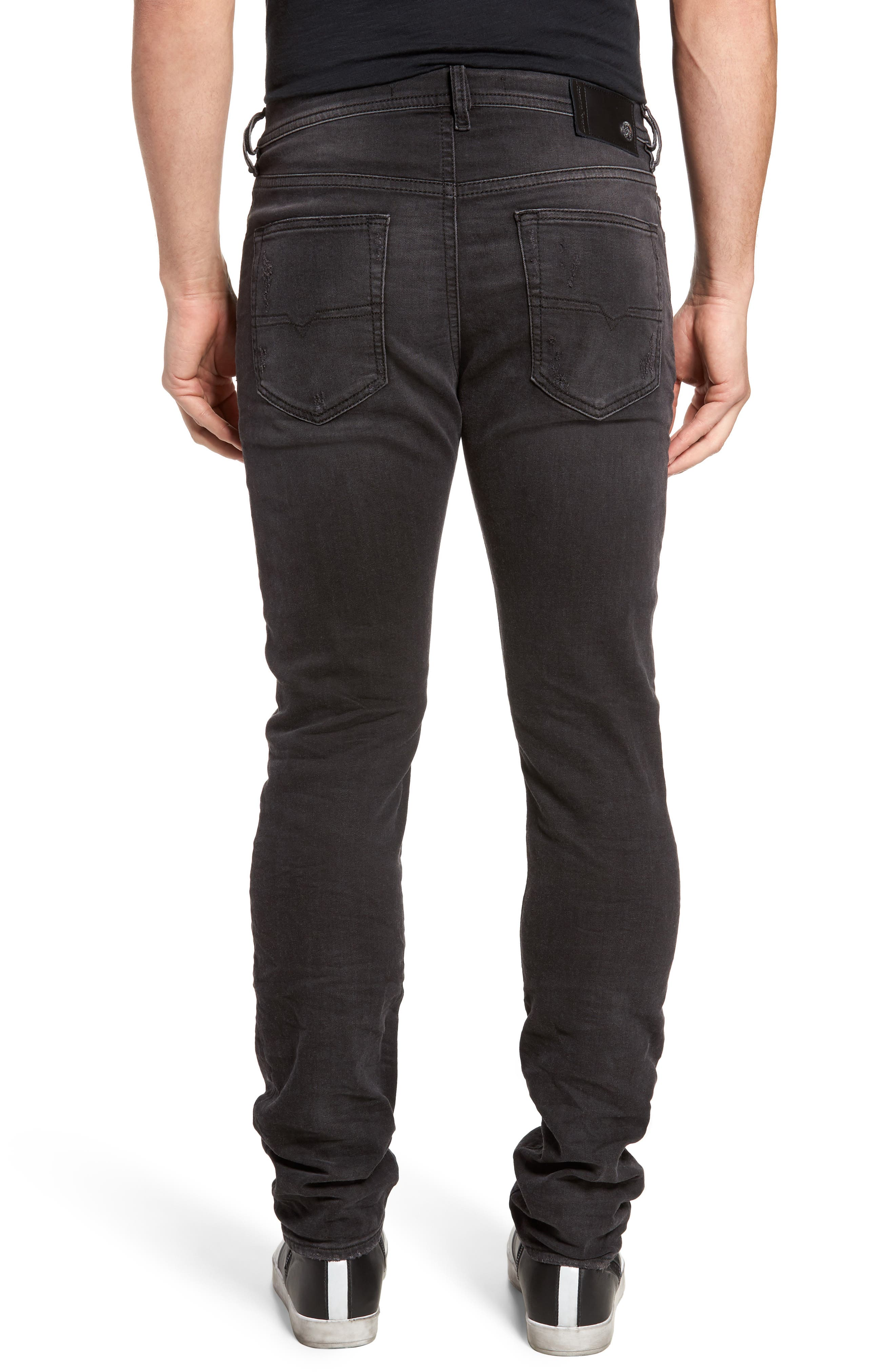 Buster Slim Straight Fit Jeans,                             Alternate thumbnail 2, color,                             008